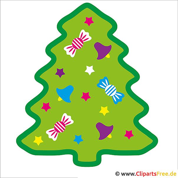 Weihnachtsbaum Clipart.Weihnachtsbaum Bild Silvester Cliparts Gratis