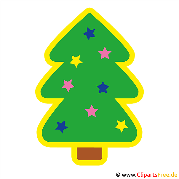 Weihnachtsbild Tannenbaum