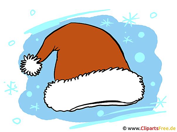 Weihnachtsmuetze Nikolausmuetze Bild-Illustration