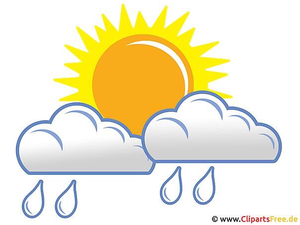 Regen Clipart - Bild