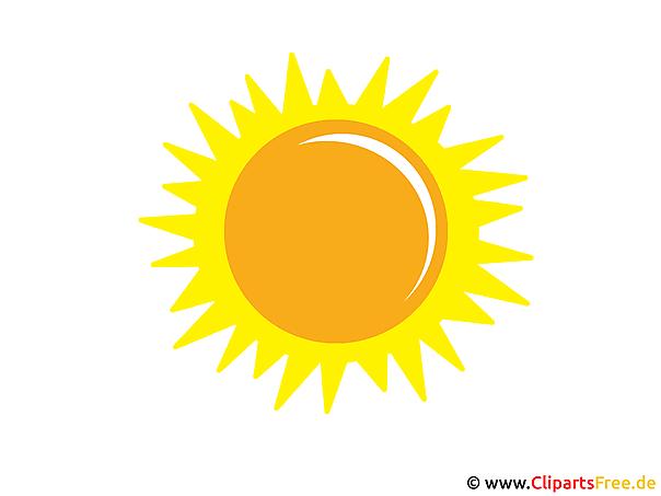 Sonne clipart gratis  Sonne Bild - Clip Art