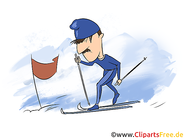 Ski Wintersportart Bilder, Cliparts, Grafiken