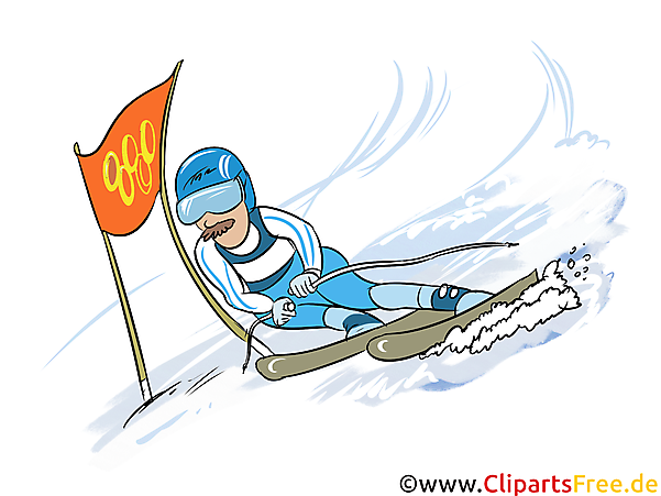 Wintersport Bilder - Skipsport, Slalom