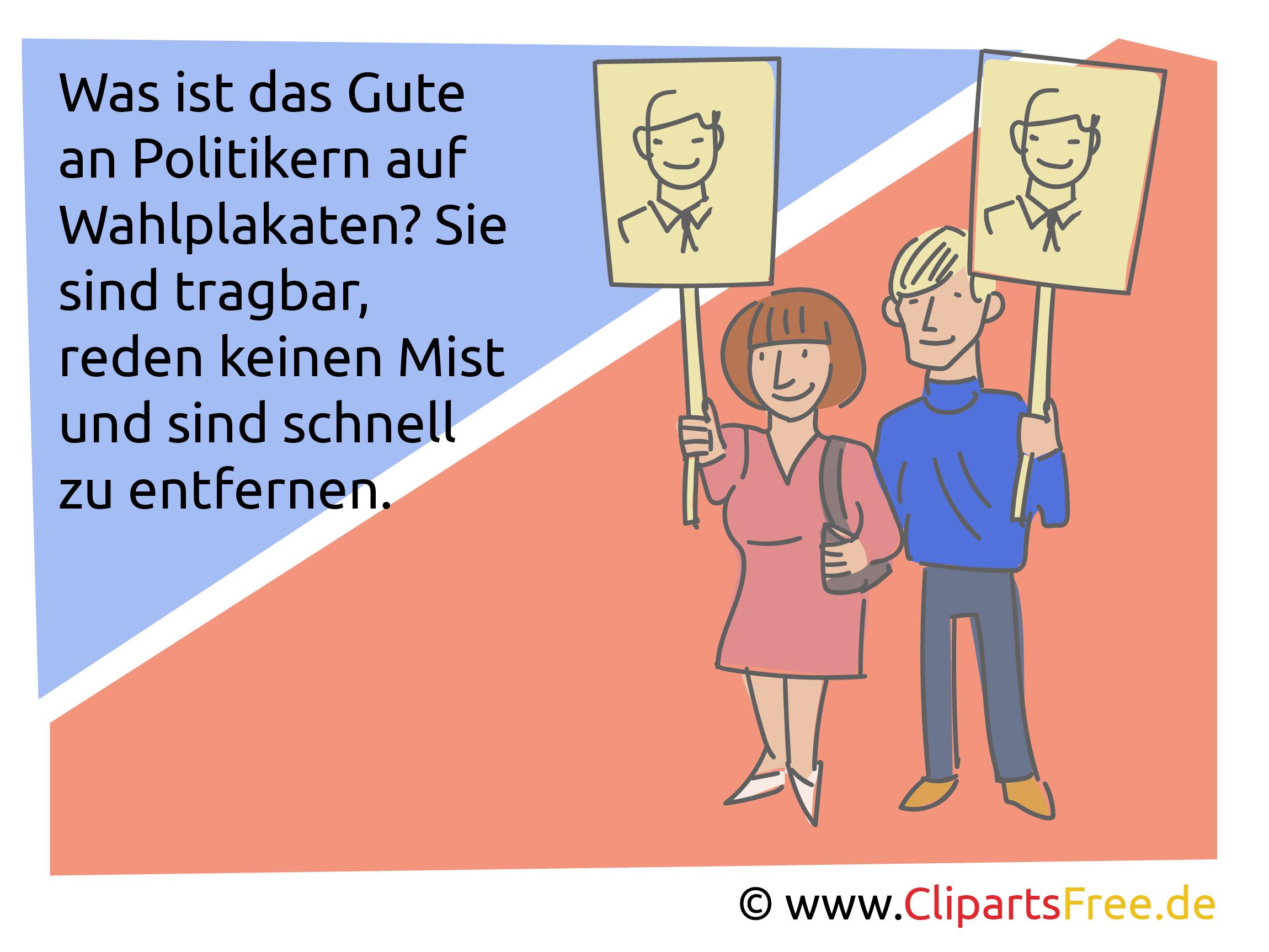 Politikerwitze - lustige Politiker Witze über Parteien und Regierung