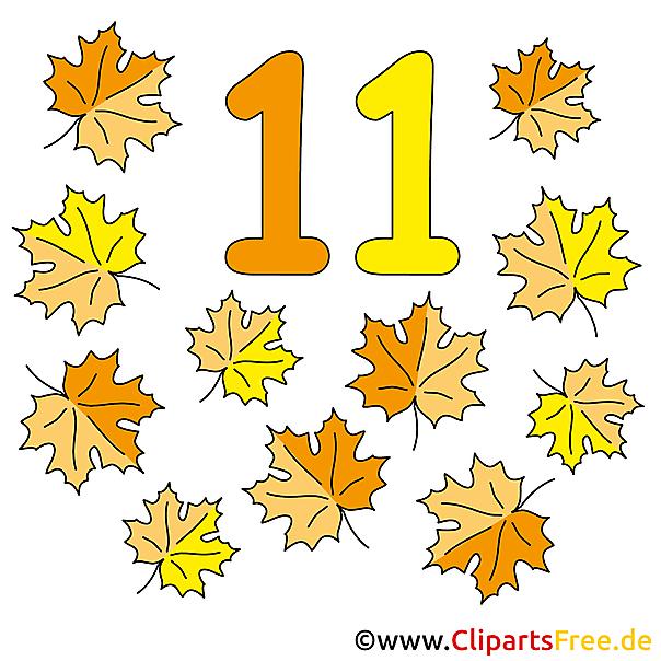 11 - Zahlen lernen im Kindergarten Arbeitsblätter