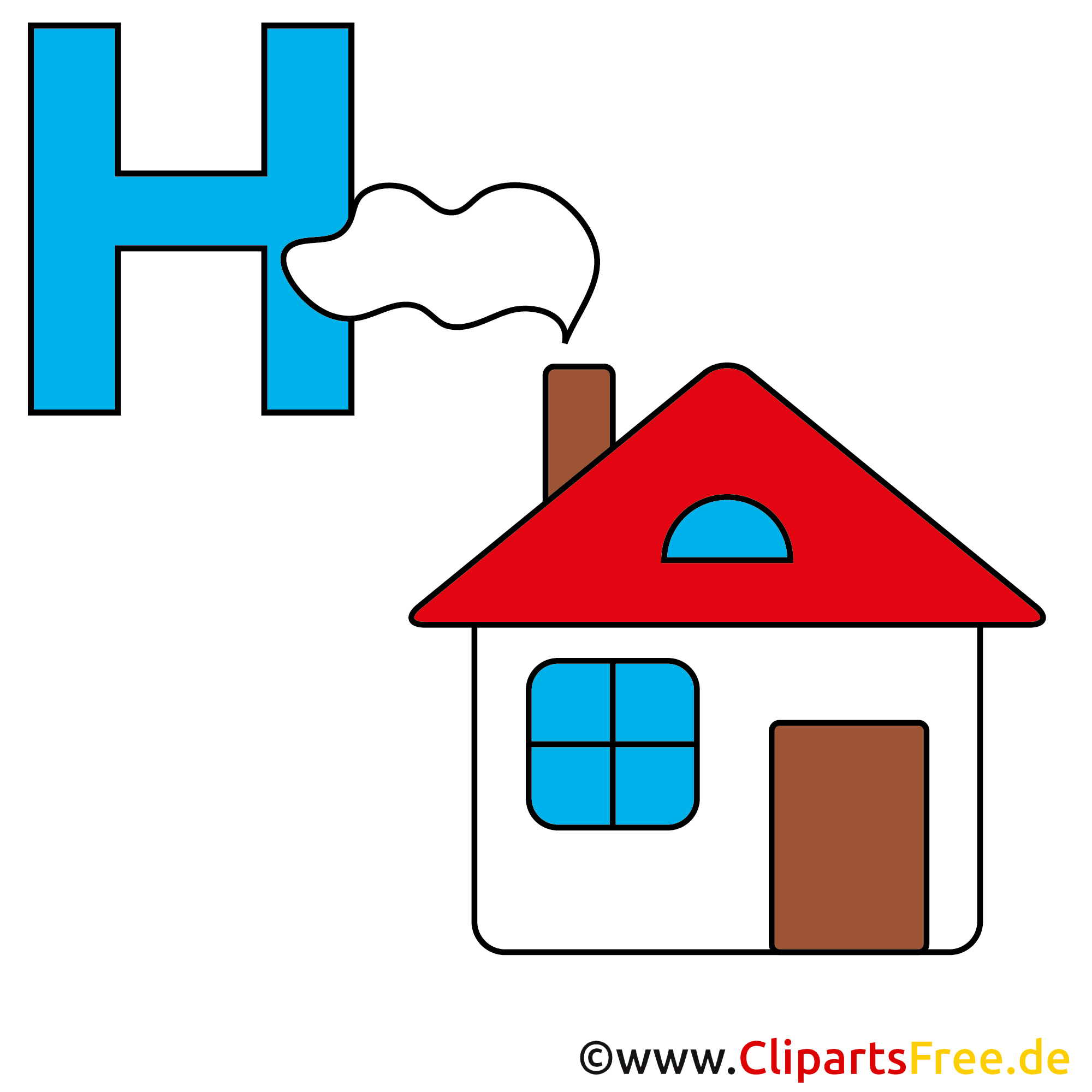 Bildwörterbuch - Haus Bild
