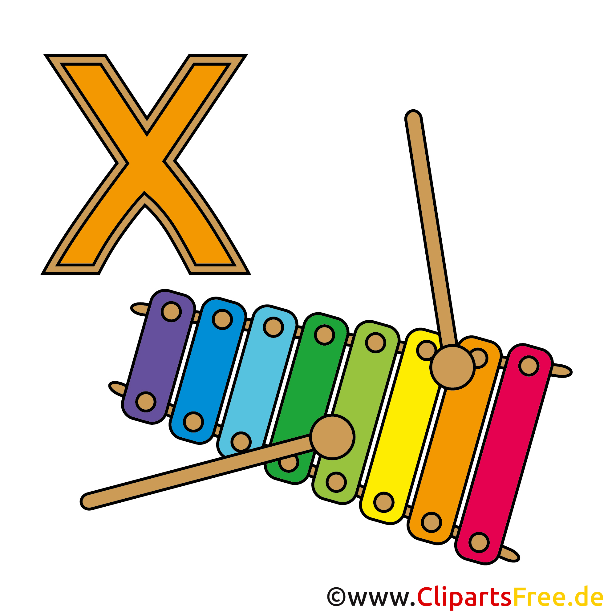 Wörterbuch - Xylophon Bild