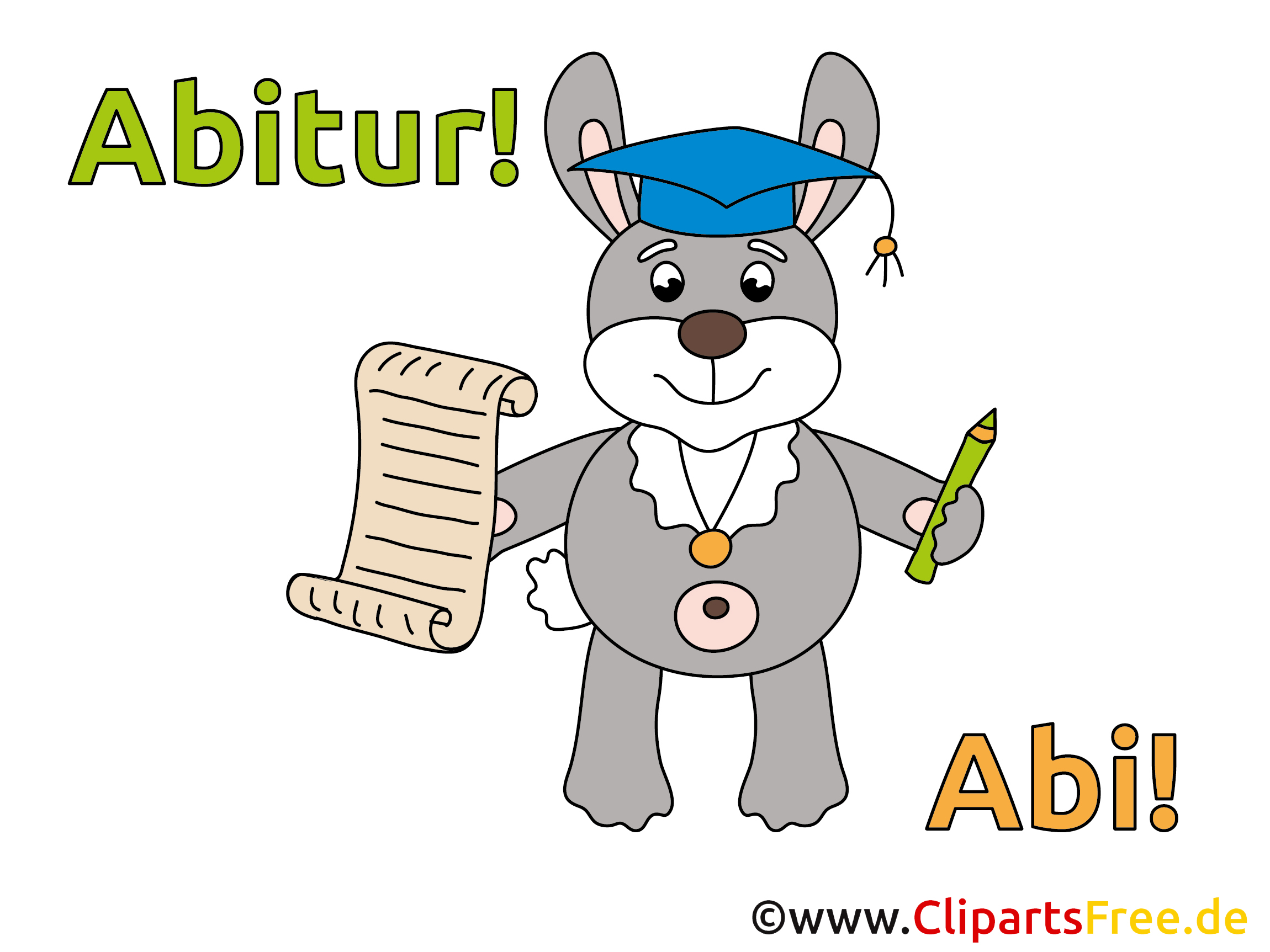 Abi Clipart für Zeitung