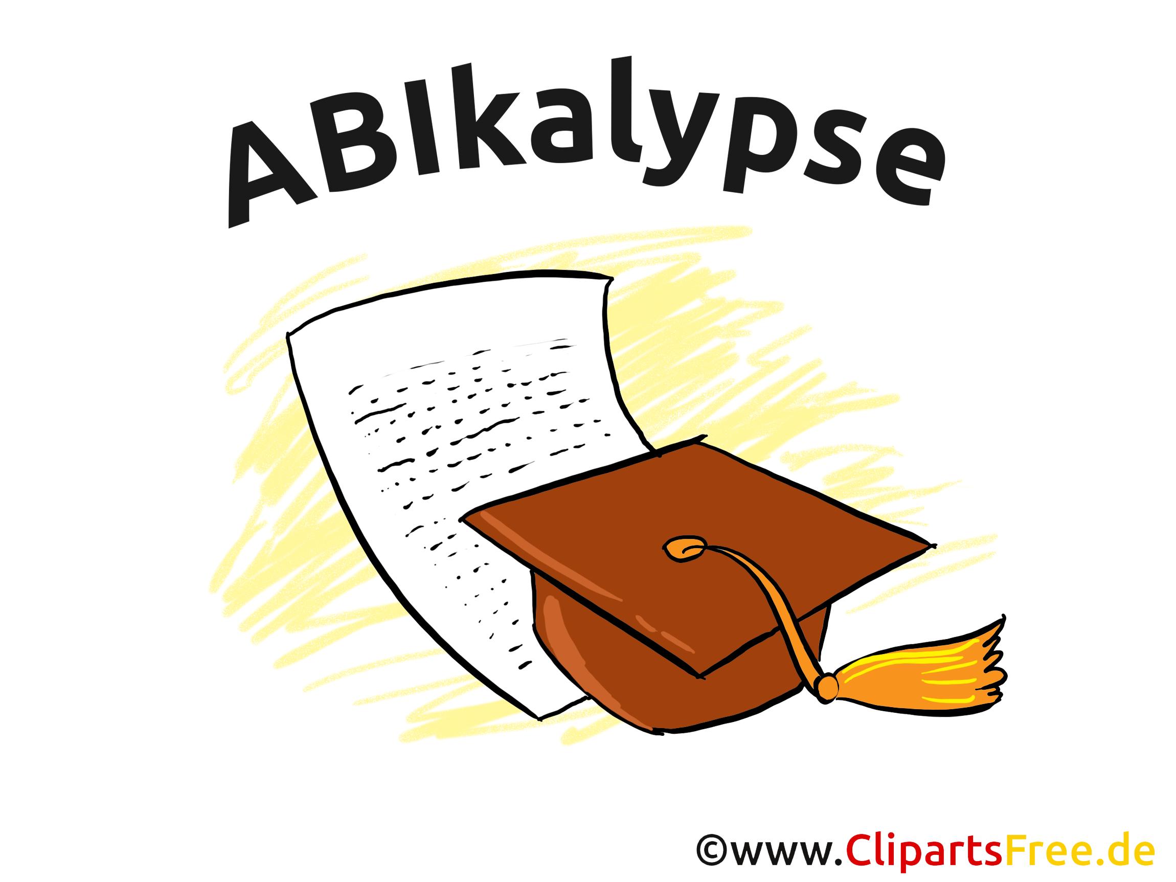 ABI Illustration zum Drucken kostenlos