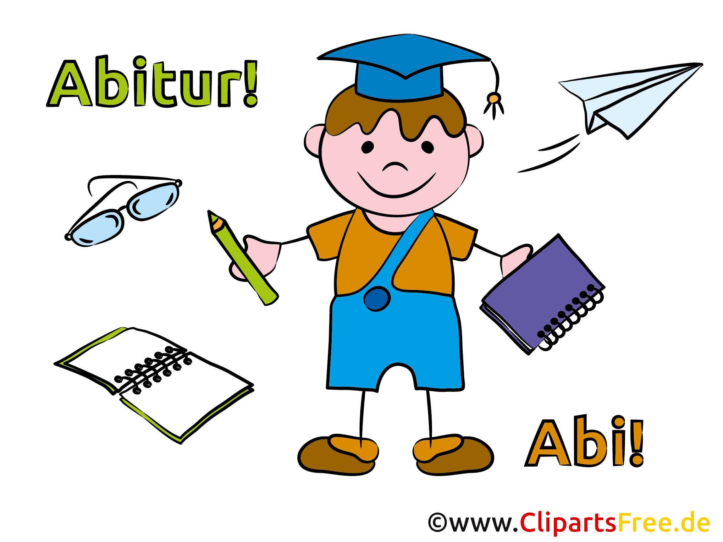 Abi Plakate Ideen mit unseren Cliparts