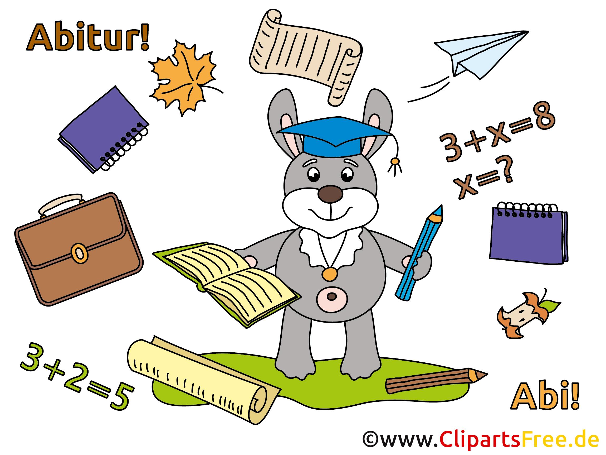 Clip Bilder Abitur, Schulabschluss