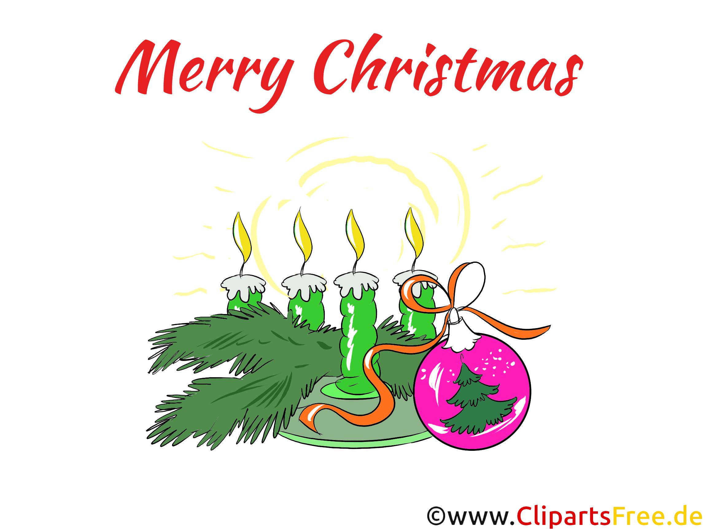 4 Advent Bild, Clip Art, Grafik