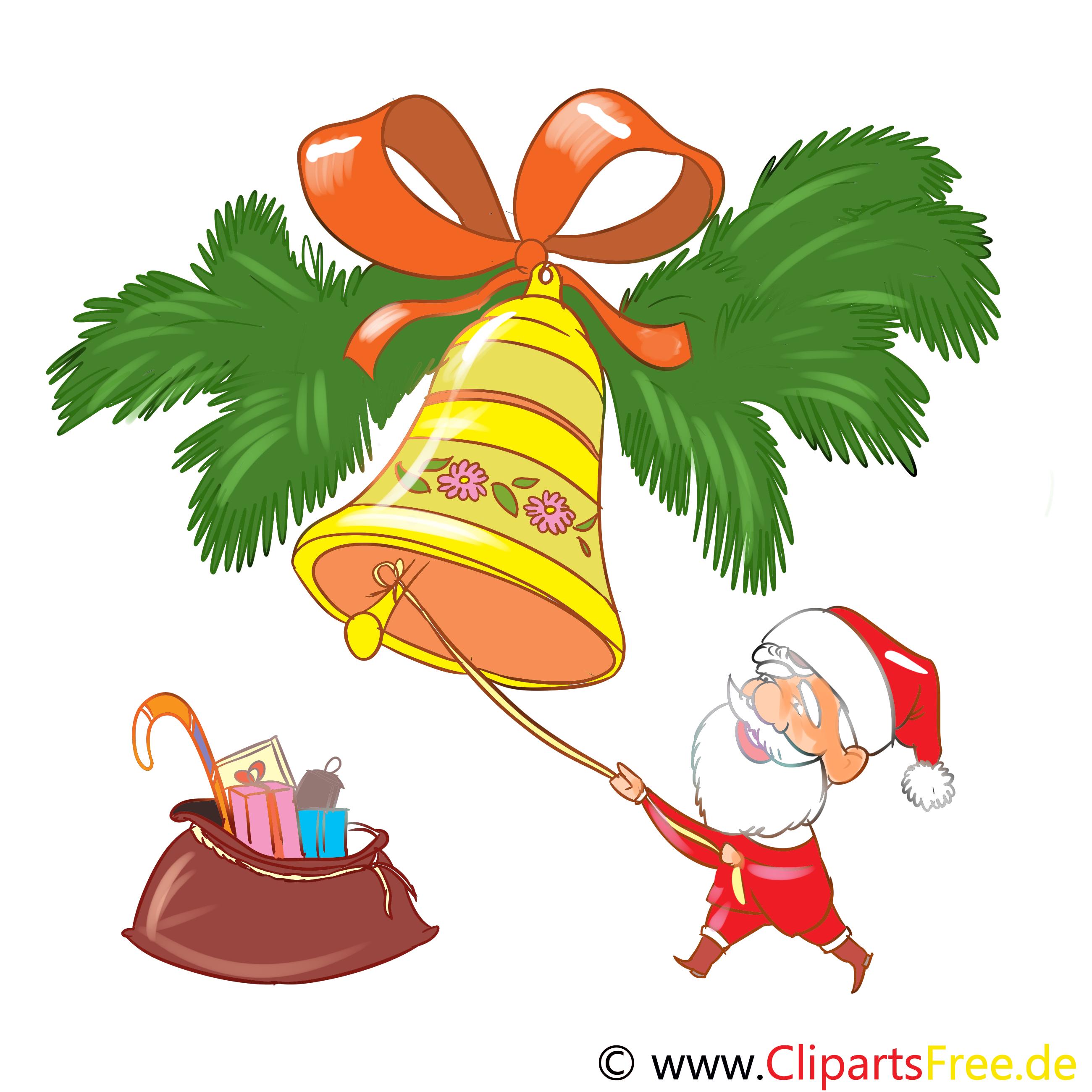 Advent Glocke Bild, Grafik, Clipart kostenlos