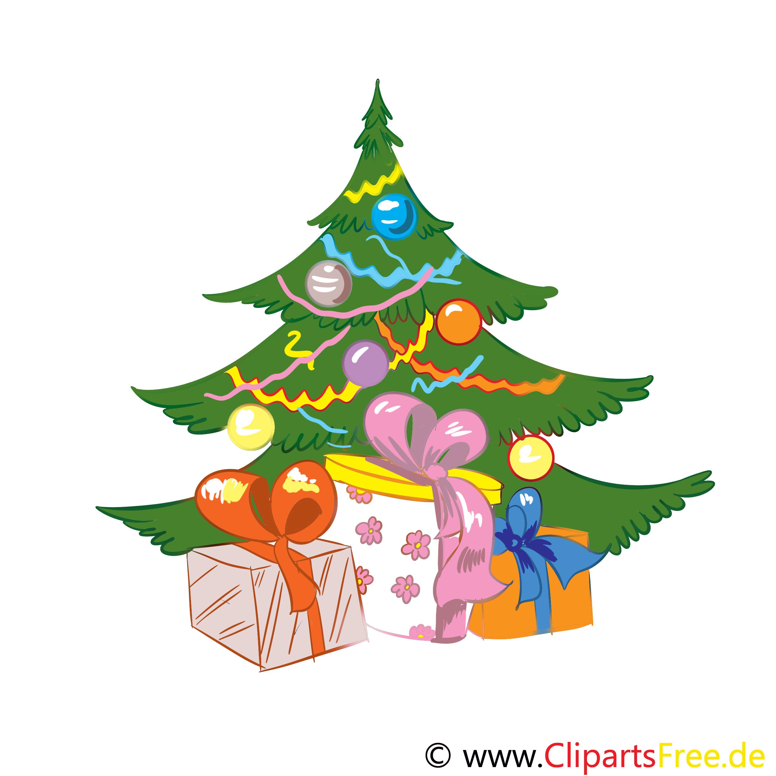 Adventsbaum Clipart Bild