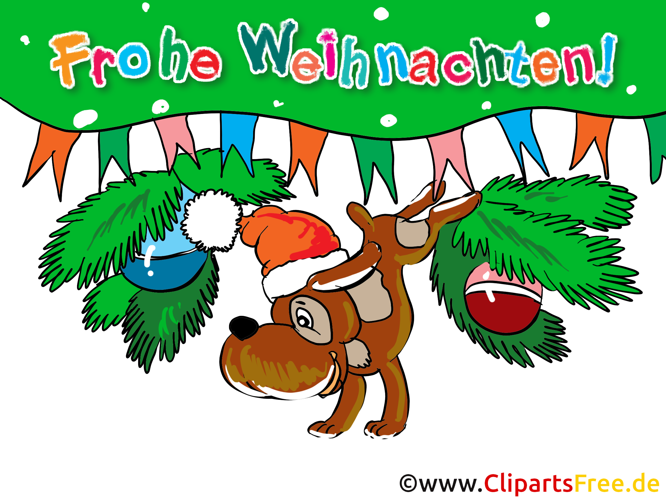 Frohe Weihnachtsgruesse