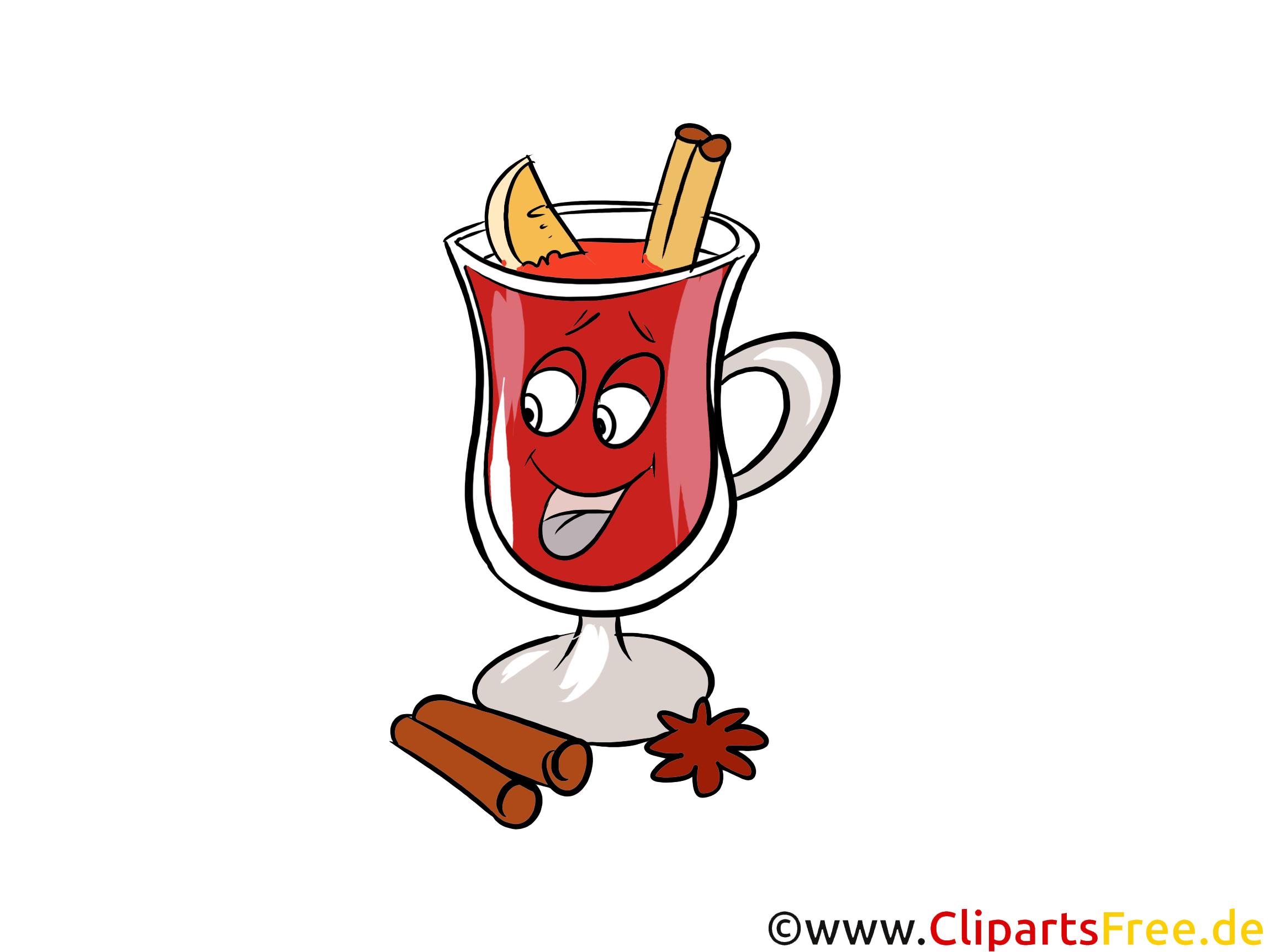 Glühwein Clipart