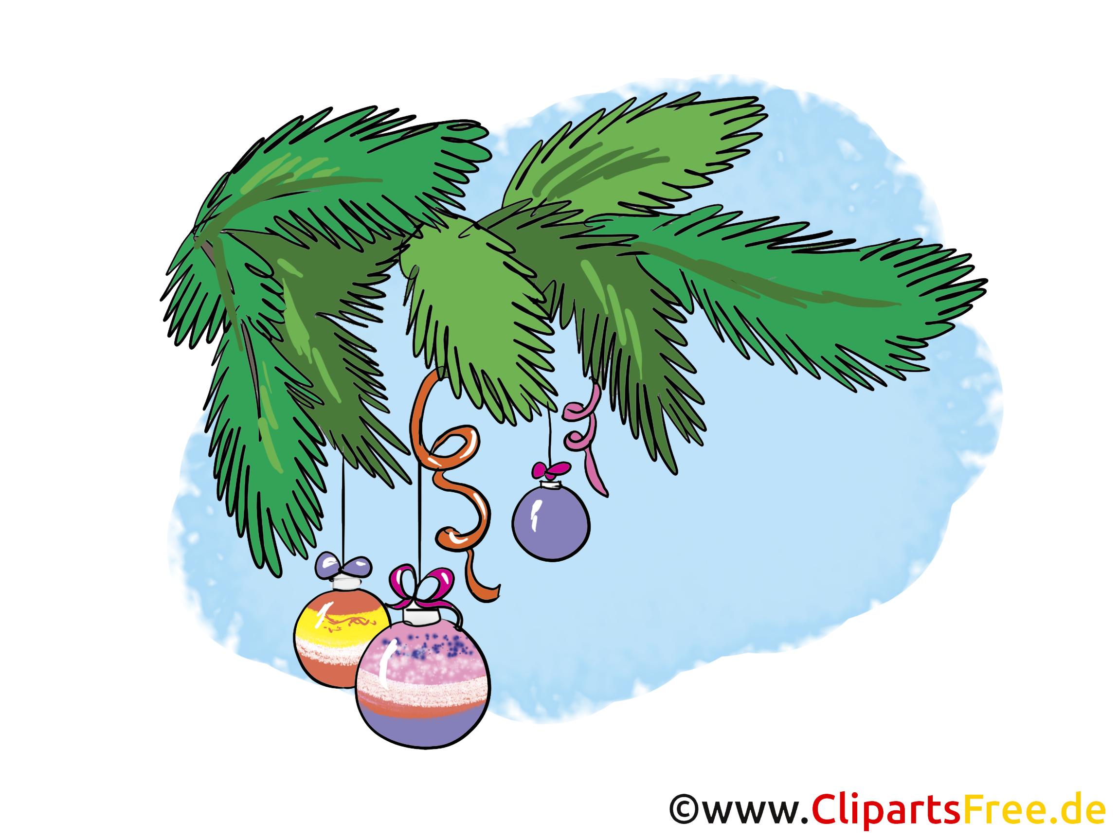 Kostenlose Cliparts Weihnachten und Silvester