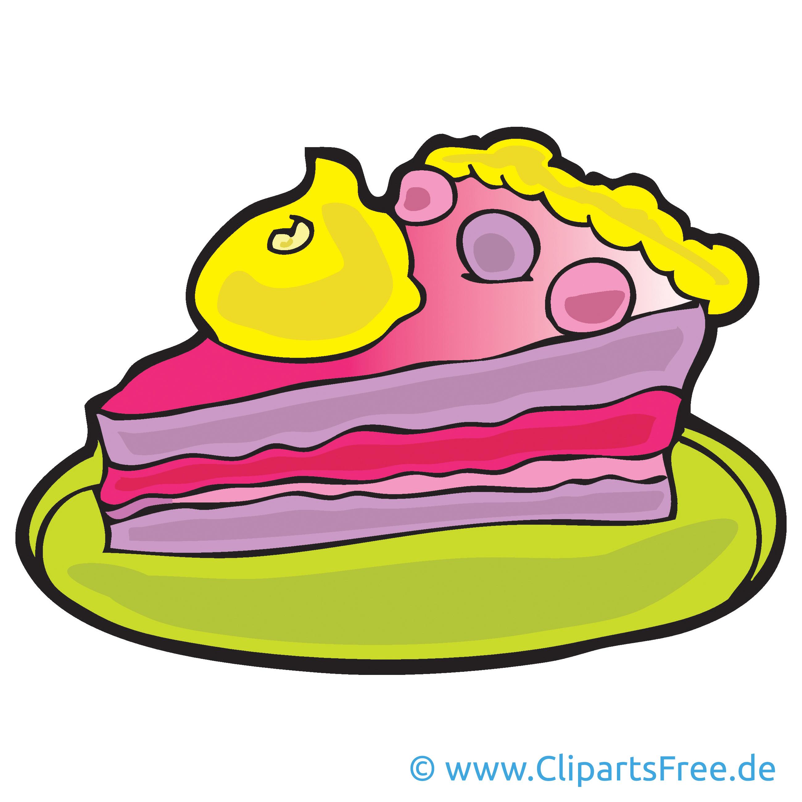 Torte Bild, Cartoon, Clipart, Grafik, Illustration