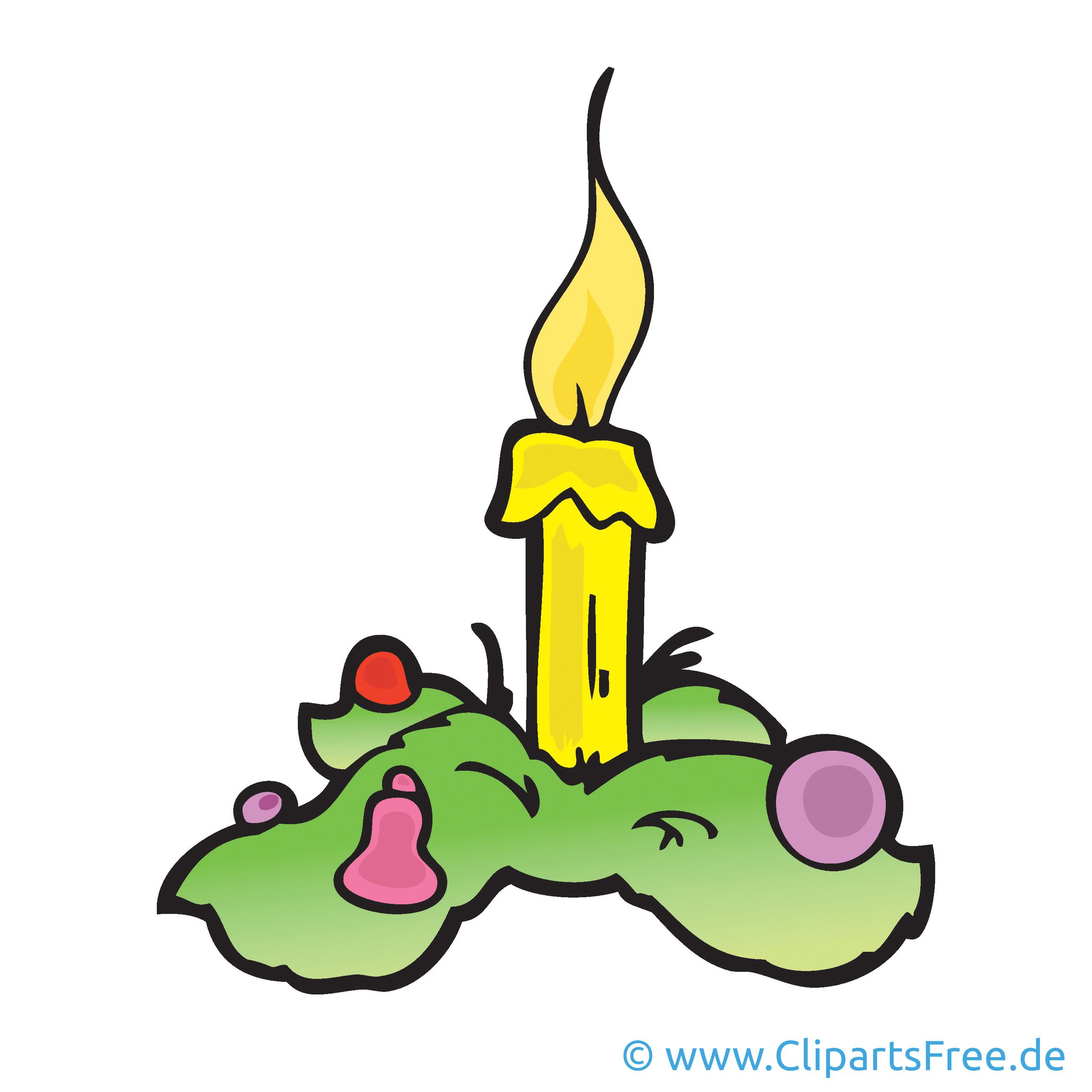 Weihnachtskranz Bild, Cartoon, Clipart, Grafik, Illustration