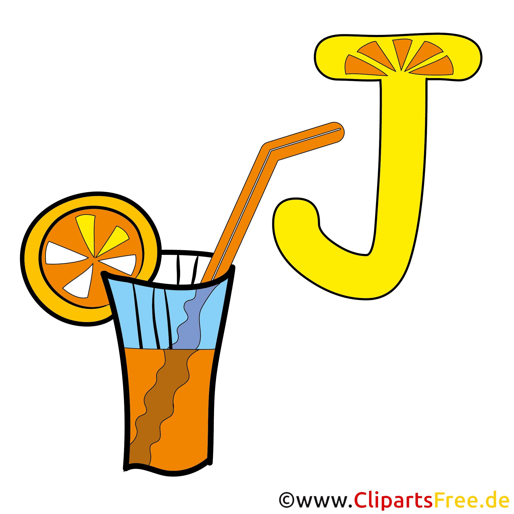 J is for Juice - Englisch Alphabet
