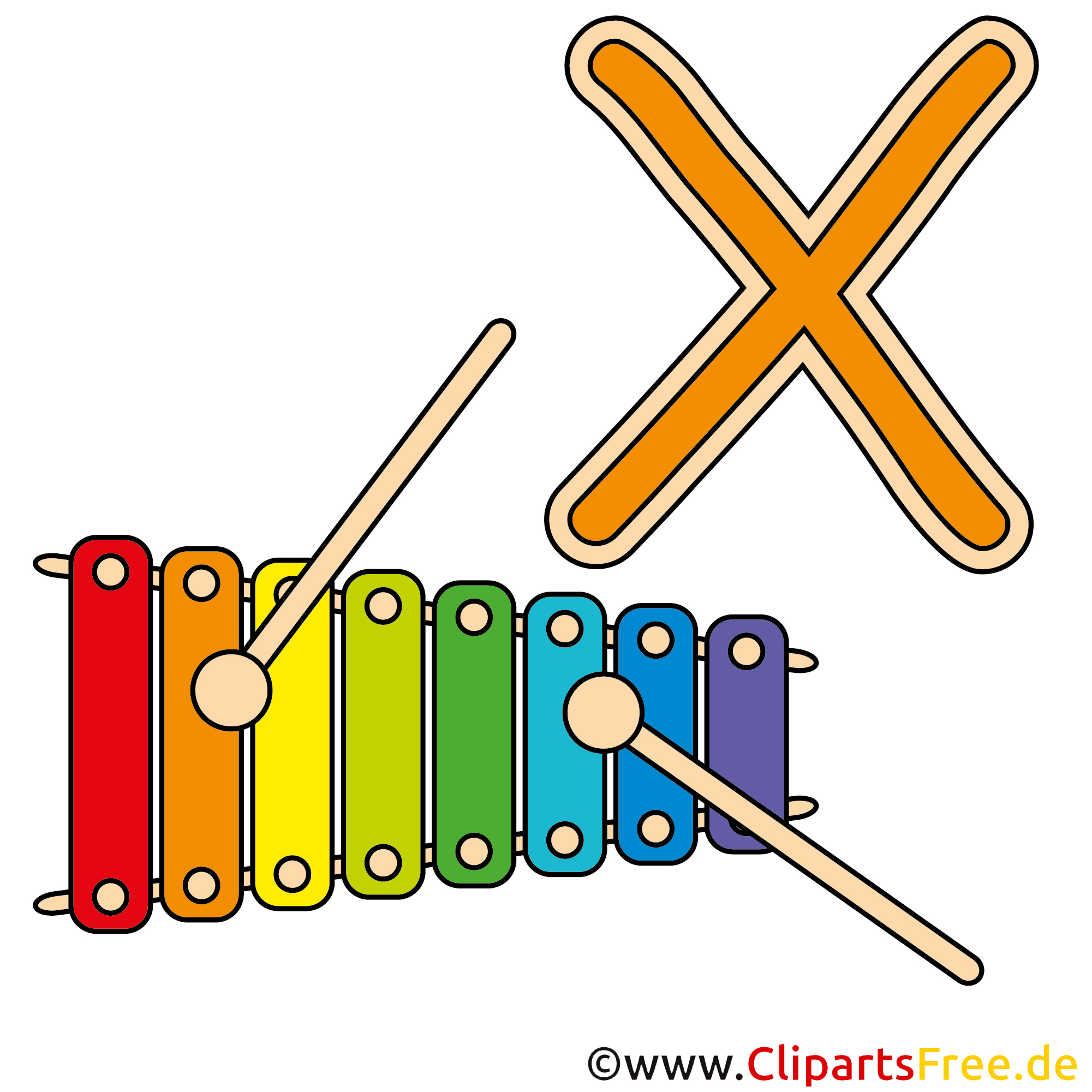 clipart xylophone - photo #22
