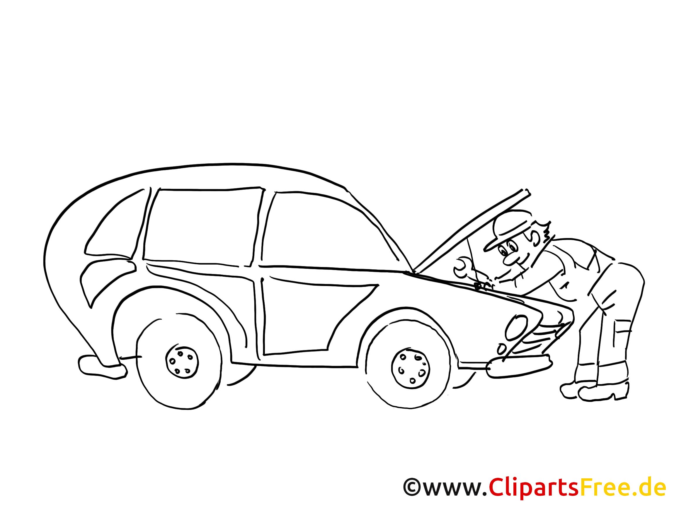 Auto service clip art, graphic, pic, cartoon, comic free