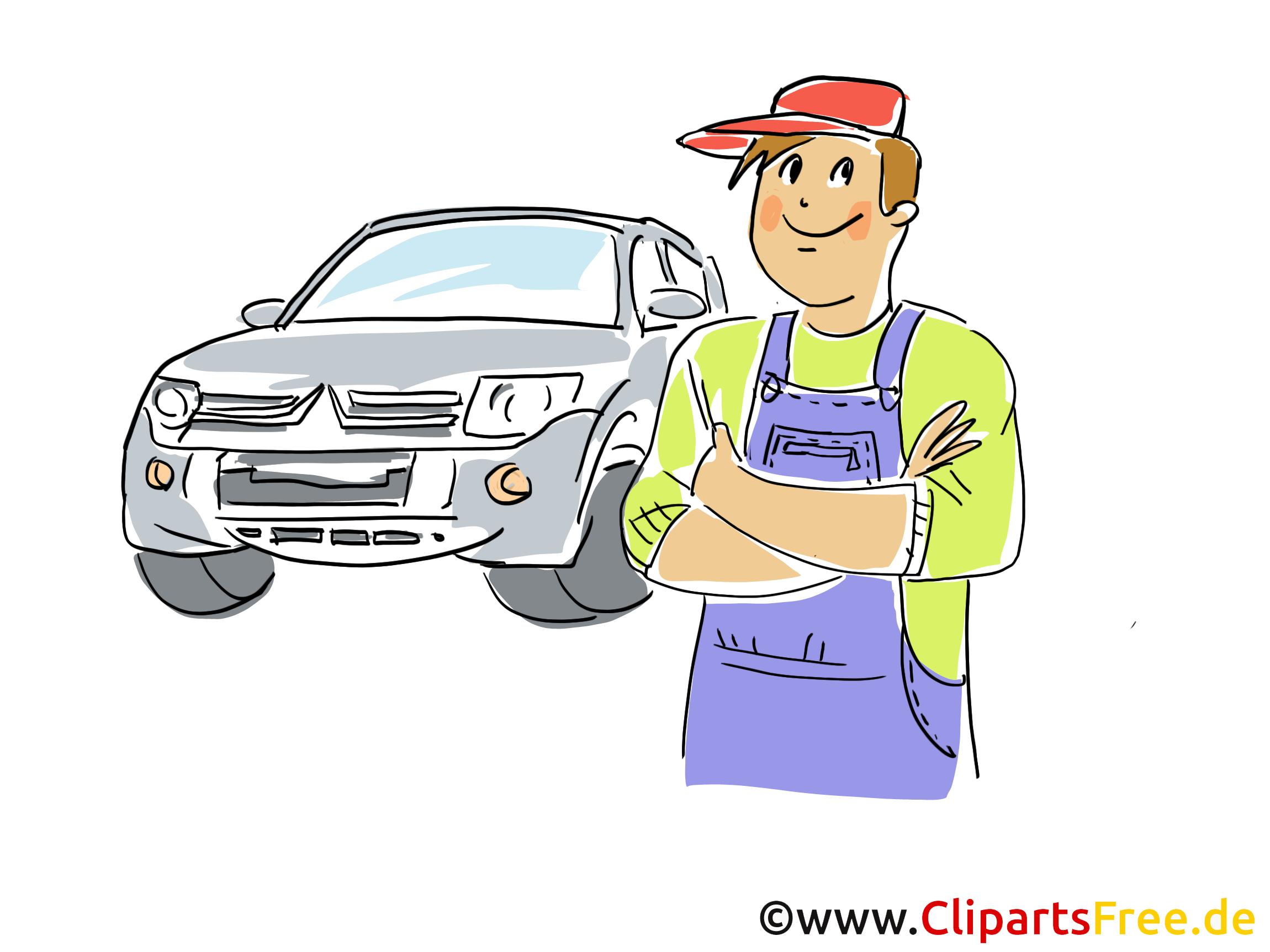 Autohaus Kfz An- und Verkauf Bild, Clipart, Illustration, Grafik gratis