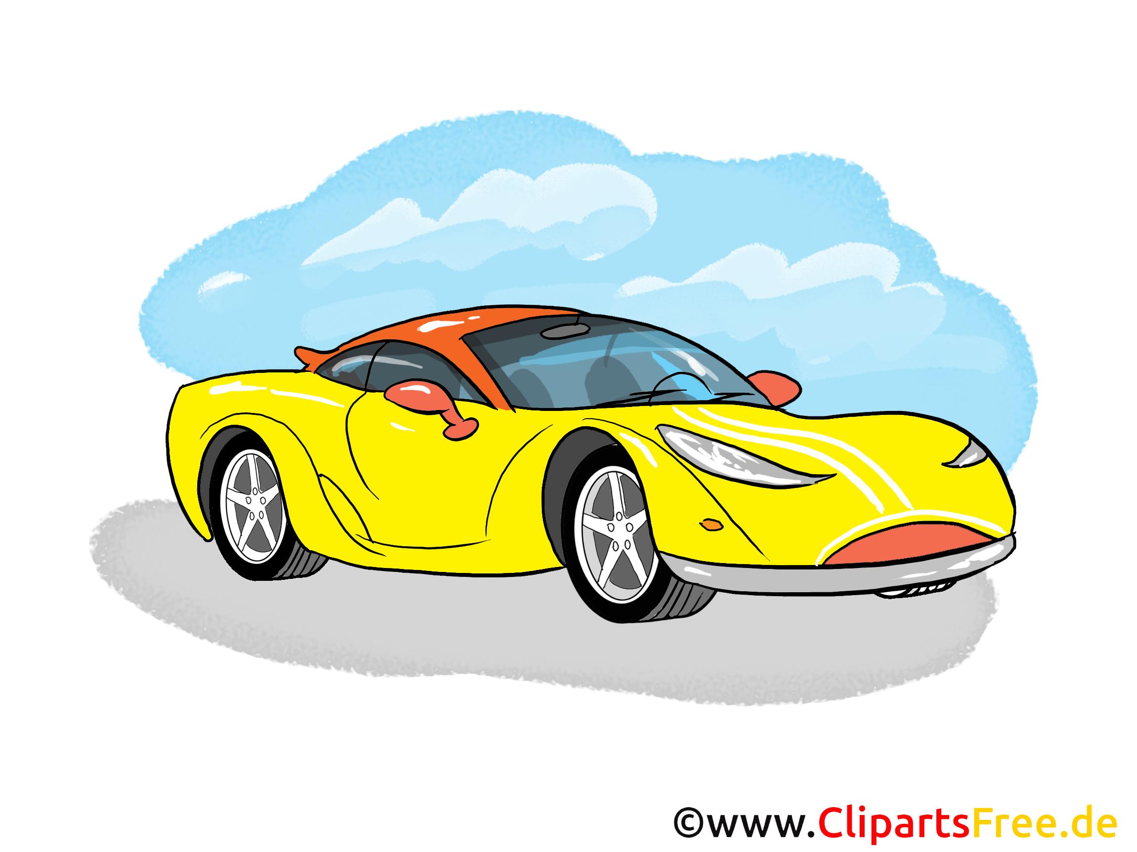 Clip Art Sport Car