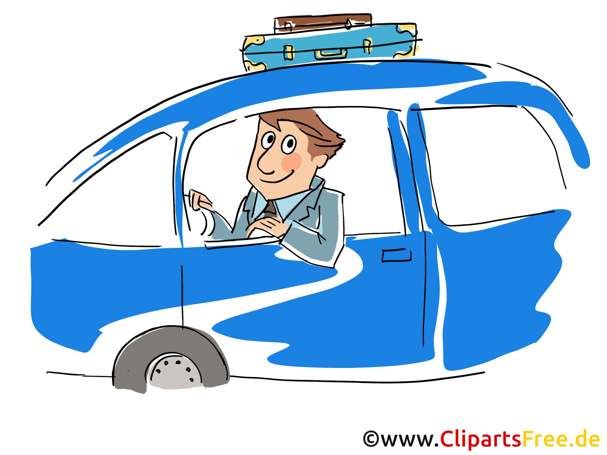 Dienstreise Clipart, Bild, Grafik, Cartoon, Illustration gratis