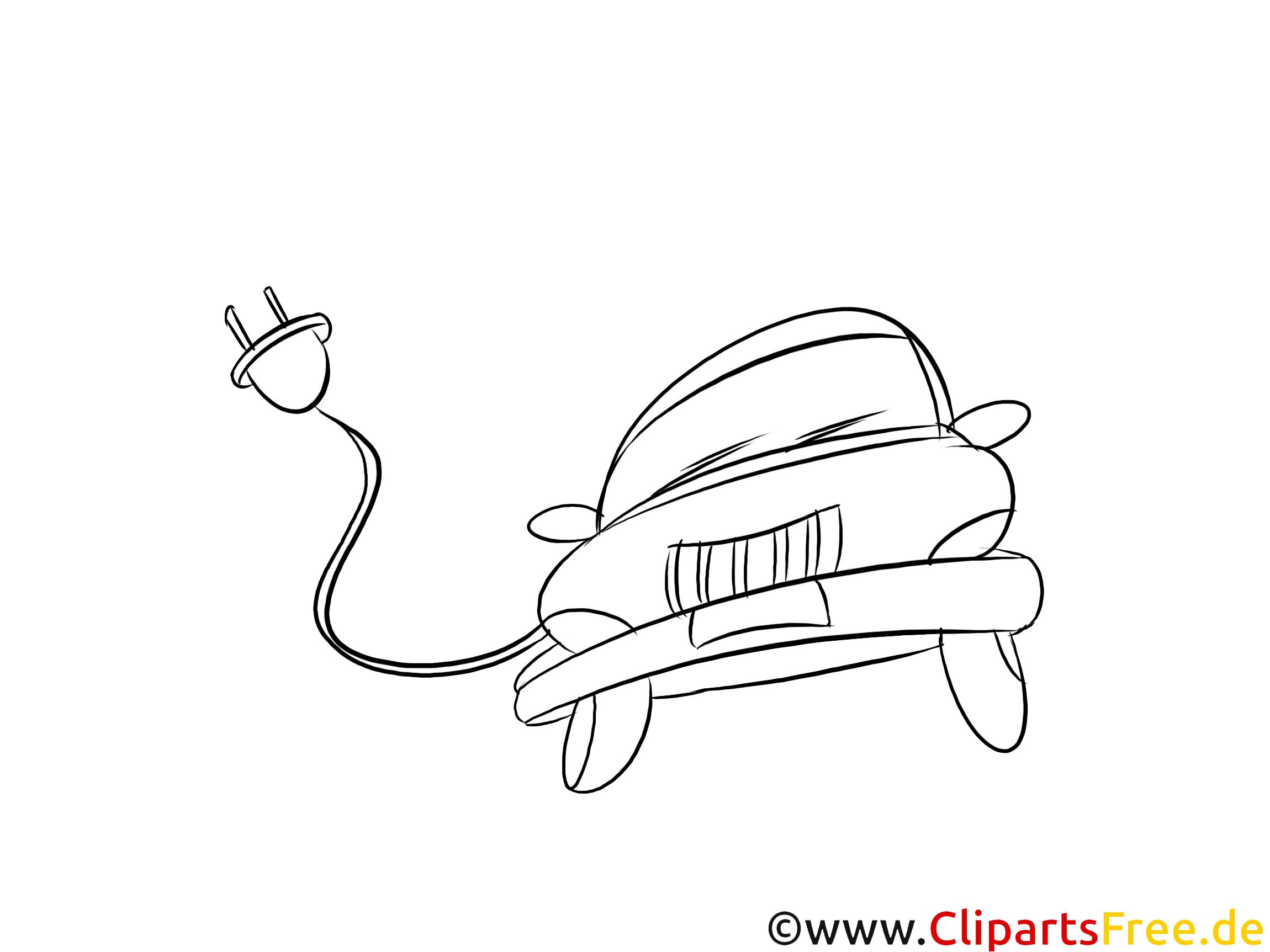 Hochwertige Elektroauto Grafiken