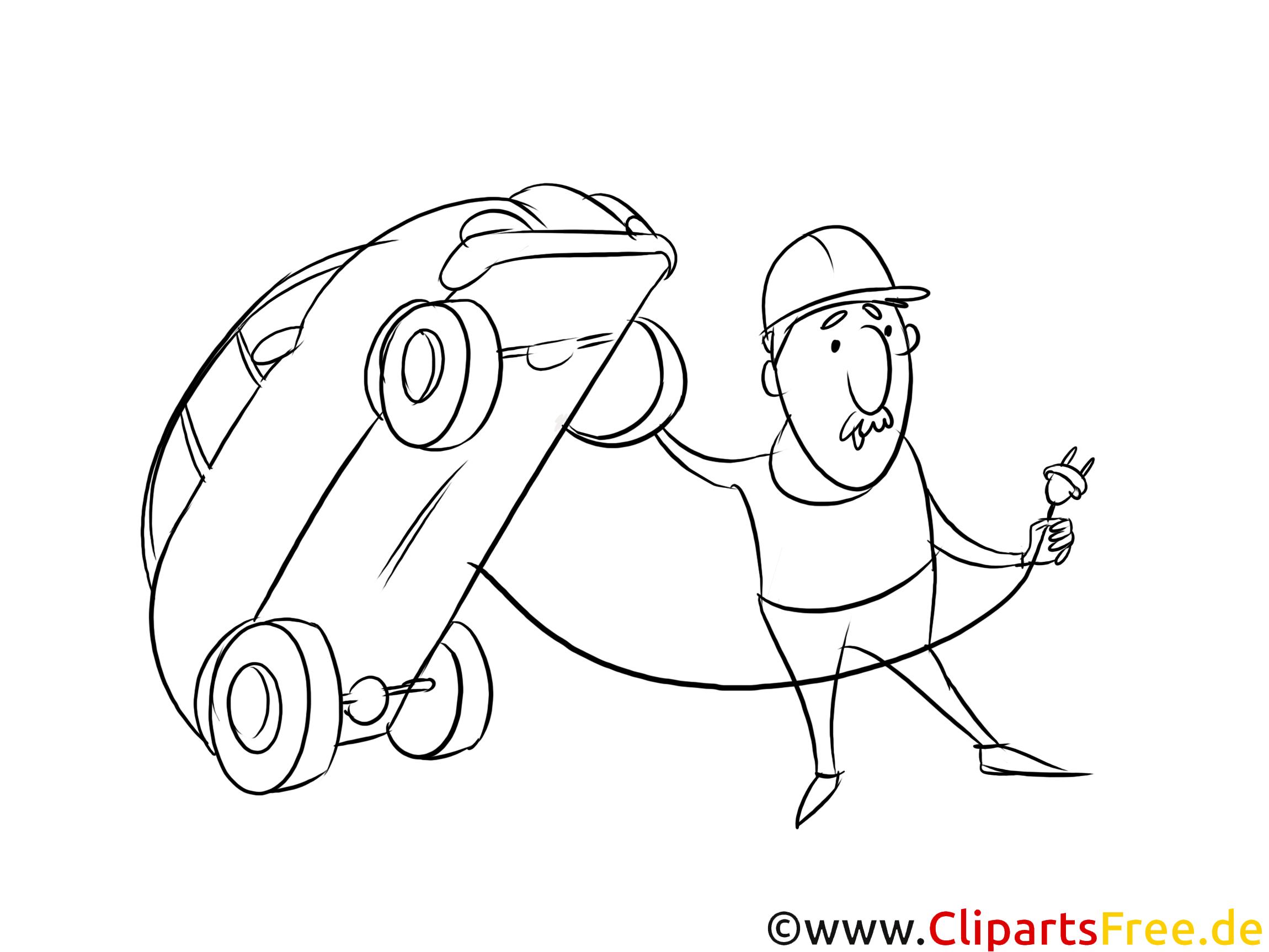 Wo findet man eine Ladestation für Elektroautos Clipart schwarz weiß