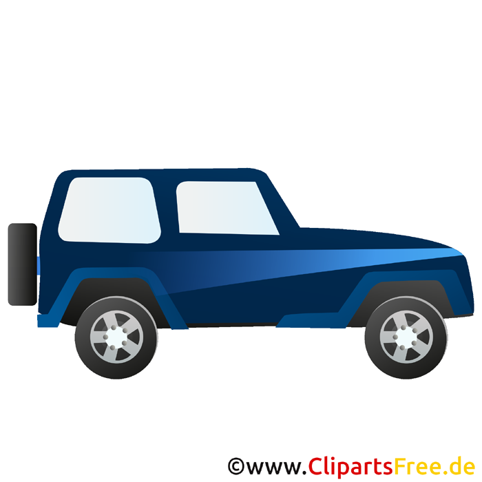 Geländewagen Clipart SUV kostenlos
