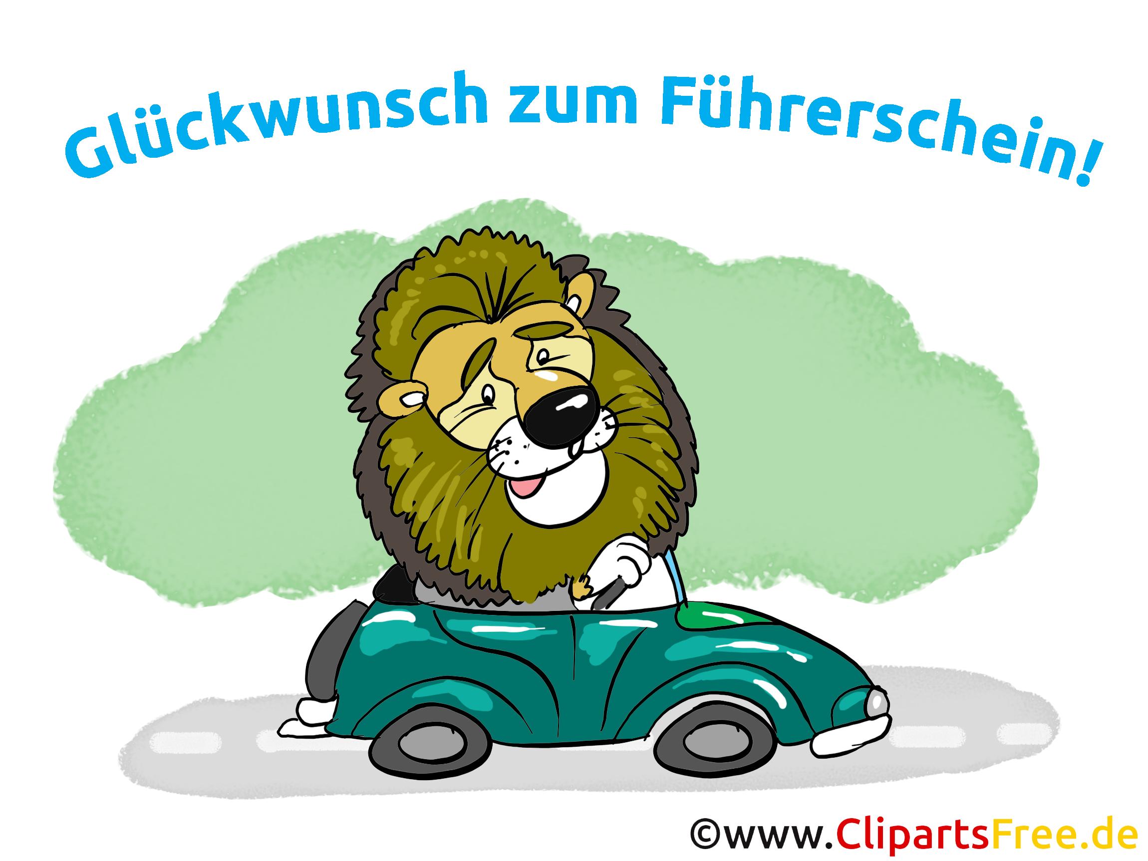 Glückwunsch Führerschein