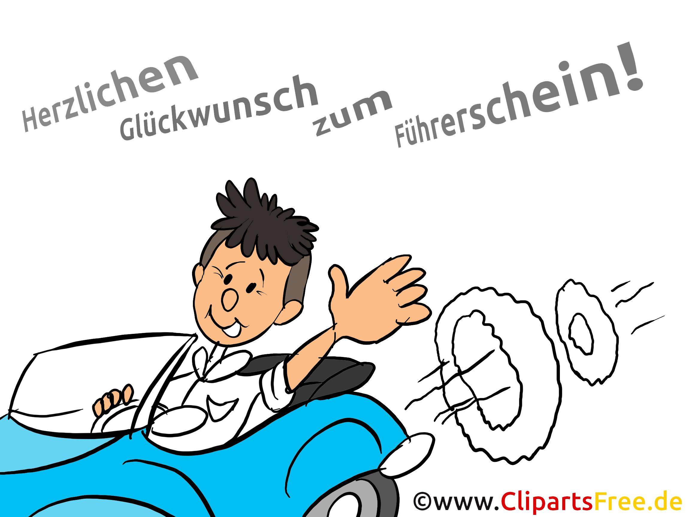 Gratulation Führerschein