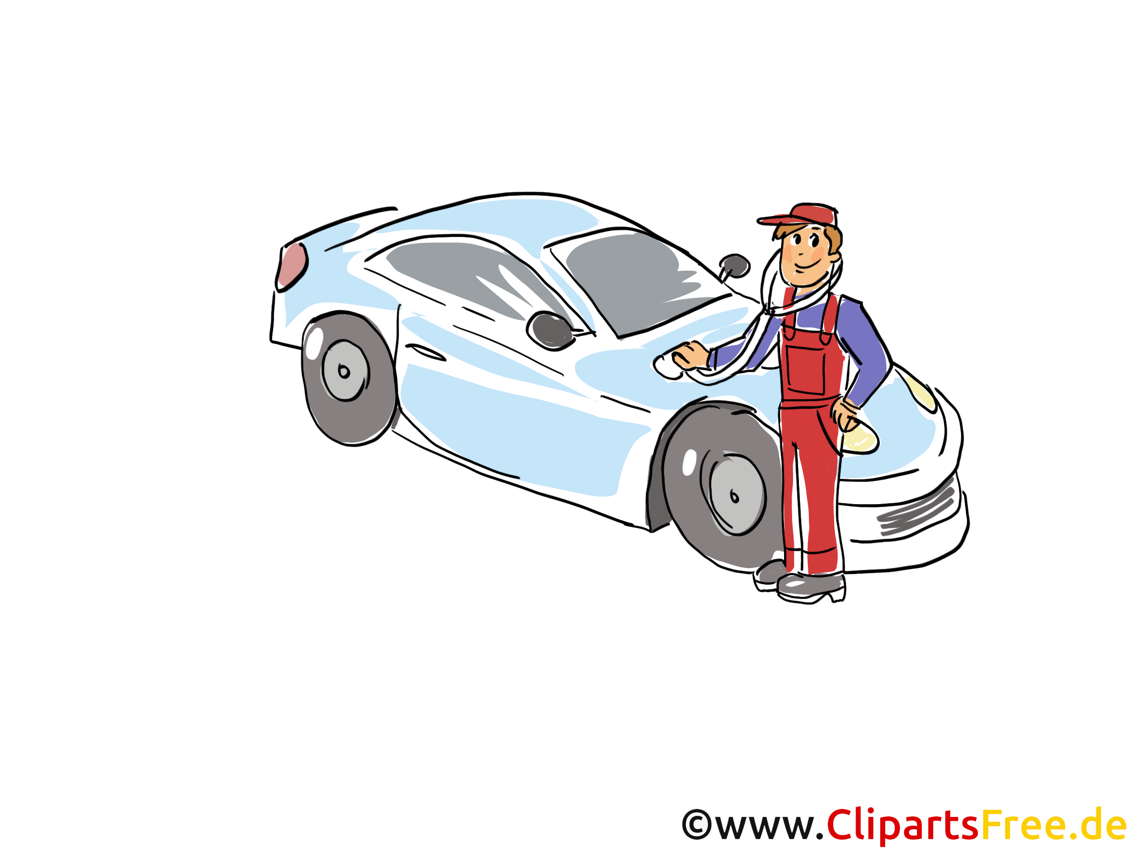 Kfz-Diagnose Clipart, Bild, Grafik, Cartoon, Illustration gratis