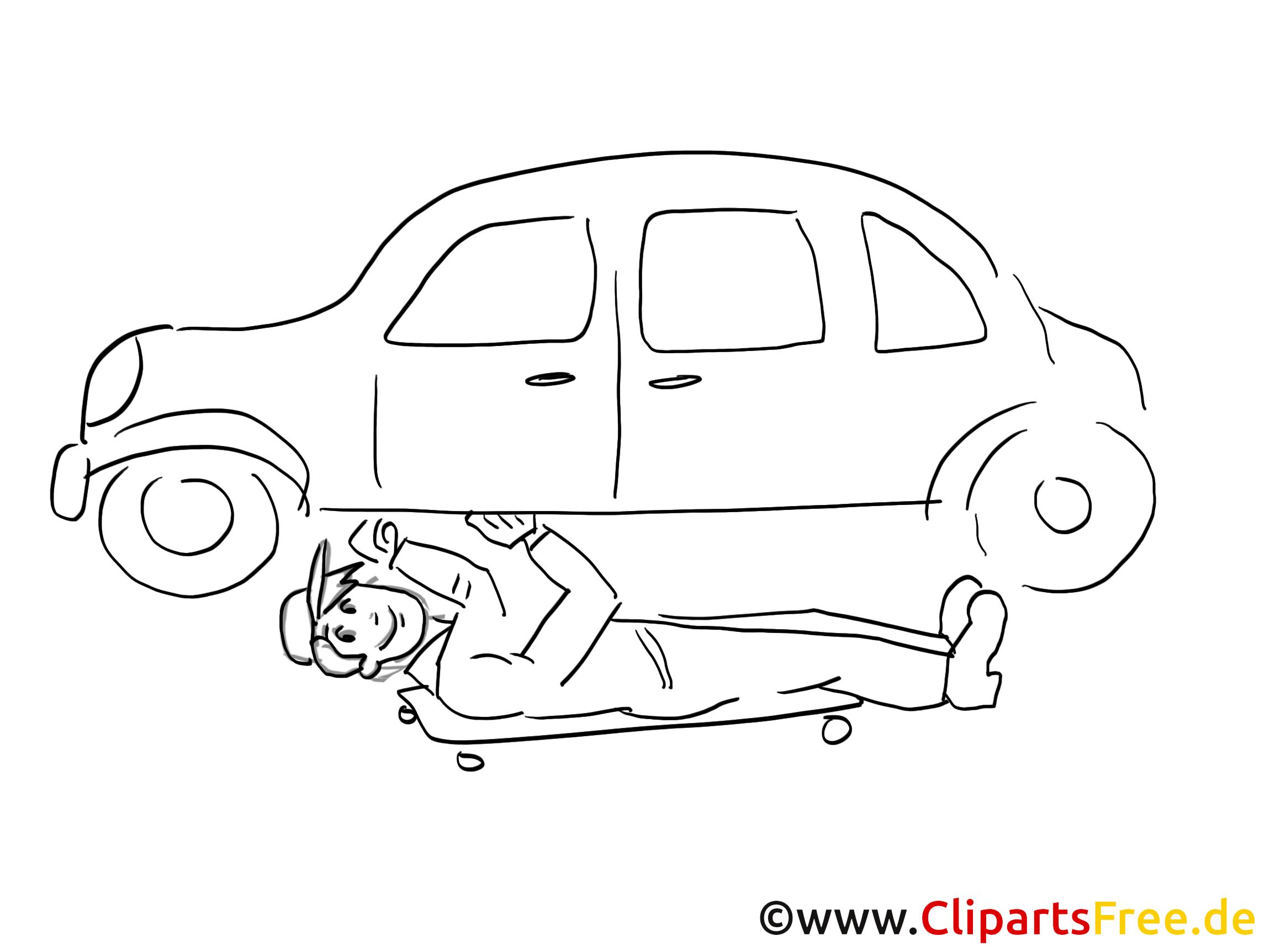 Mechanician clip art, graphic, pic, cartoon, comic free