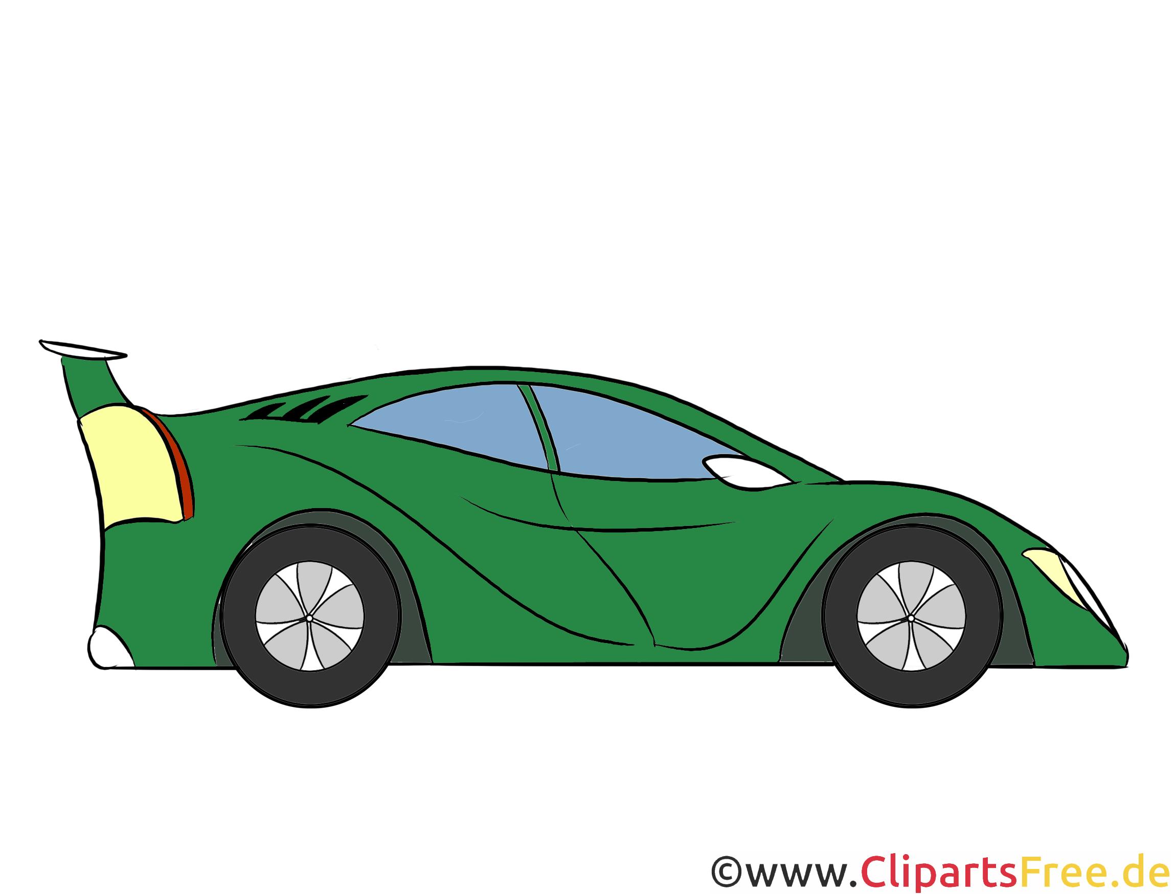 Sportwagen, Sport Auto Clipart, Illustration, Bild kostenlos