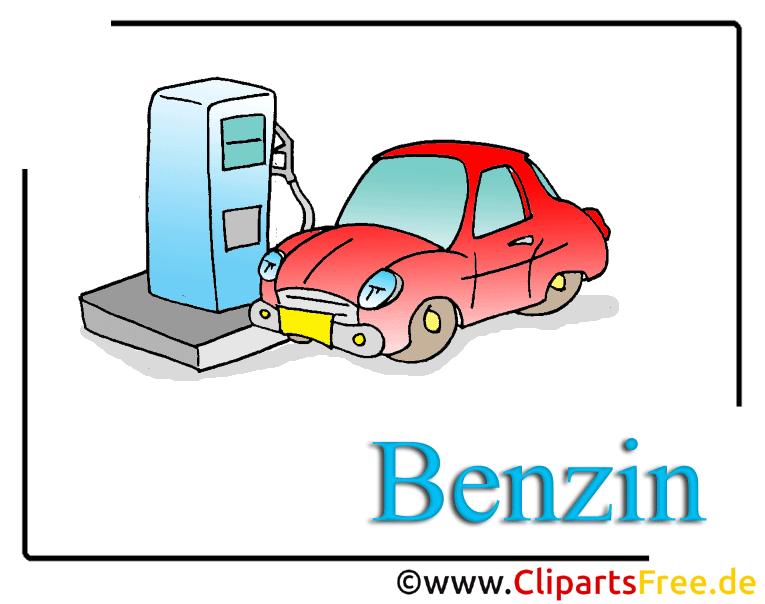 Tankstelle Clipart Benzin free