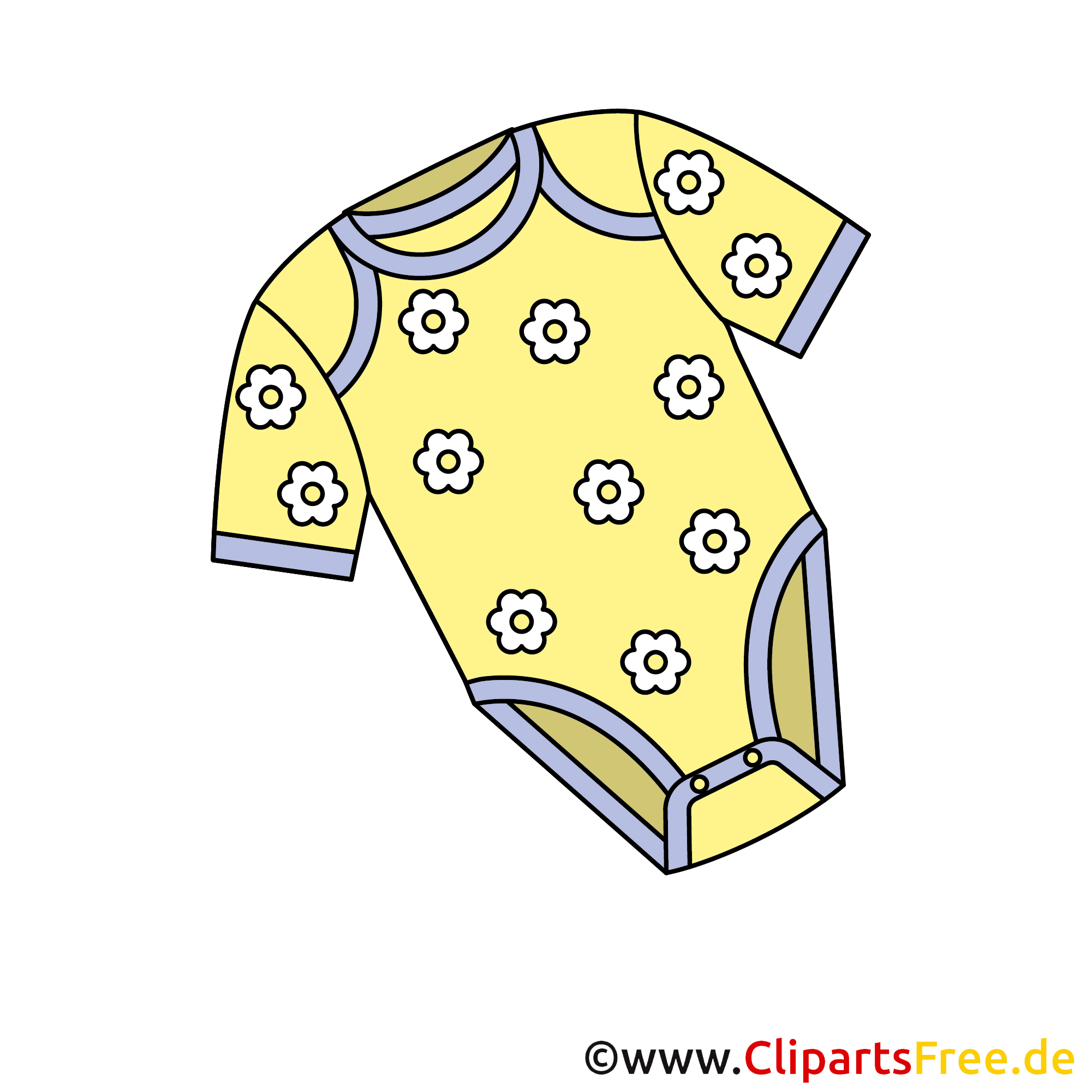 Baby Body Bild - Clipart