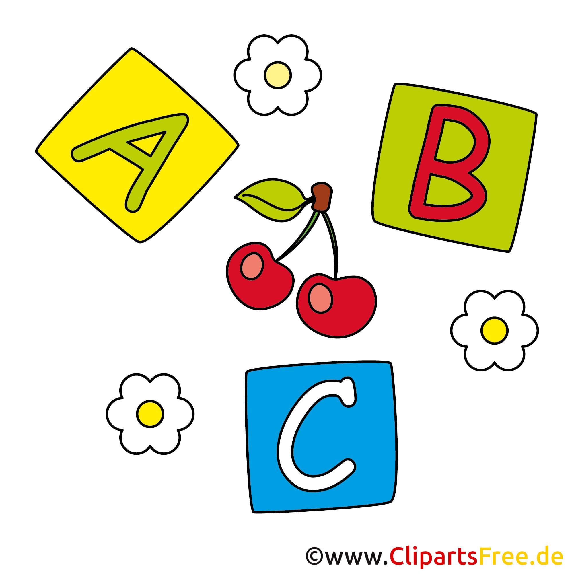 Buchstaben-Kloetzchen Babyspielzeug Bilder