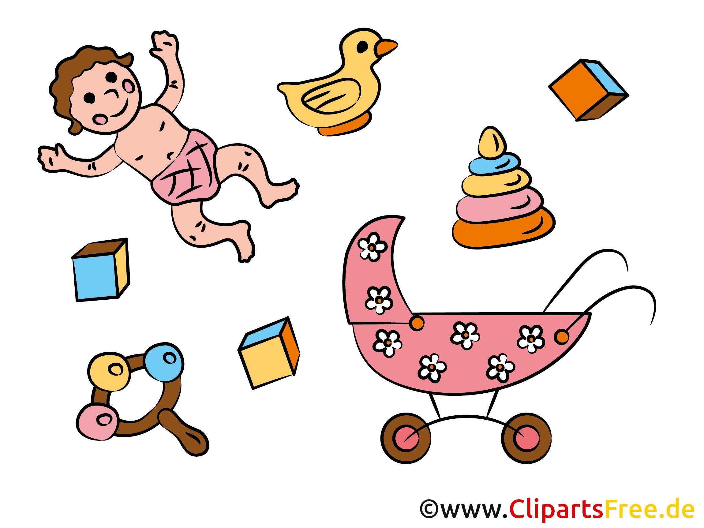 Cliparts Geburt eines Kindes