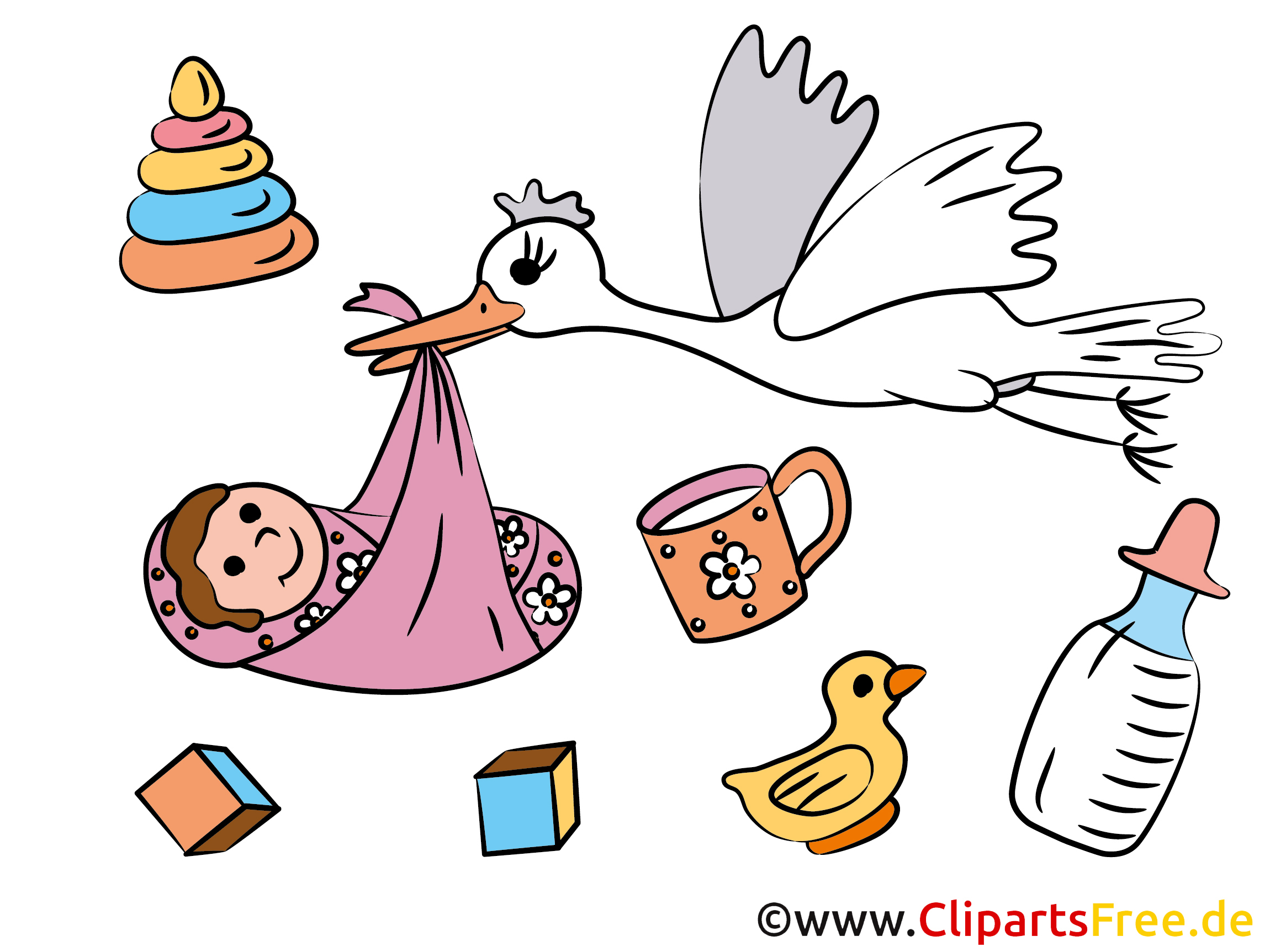clipart bilder galerie baby gratis schwangerschaft karten