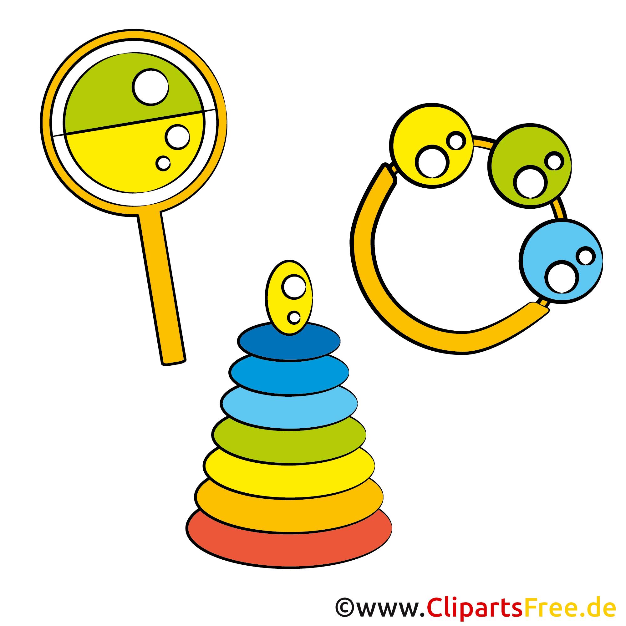 Spielzeuge Clipart-Bilder