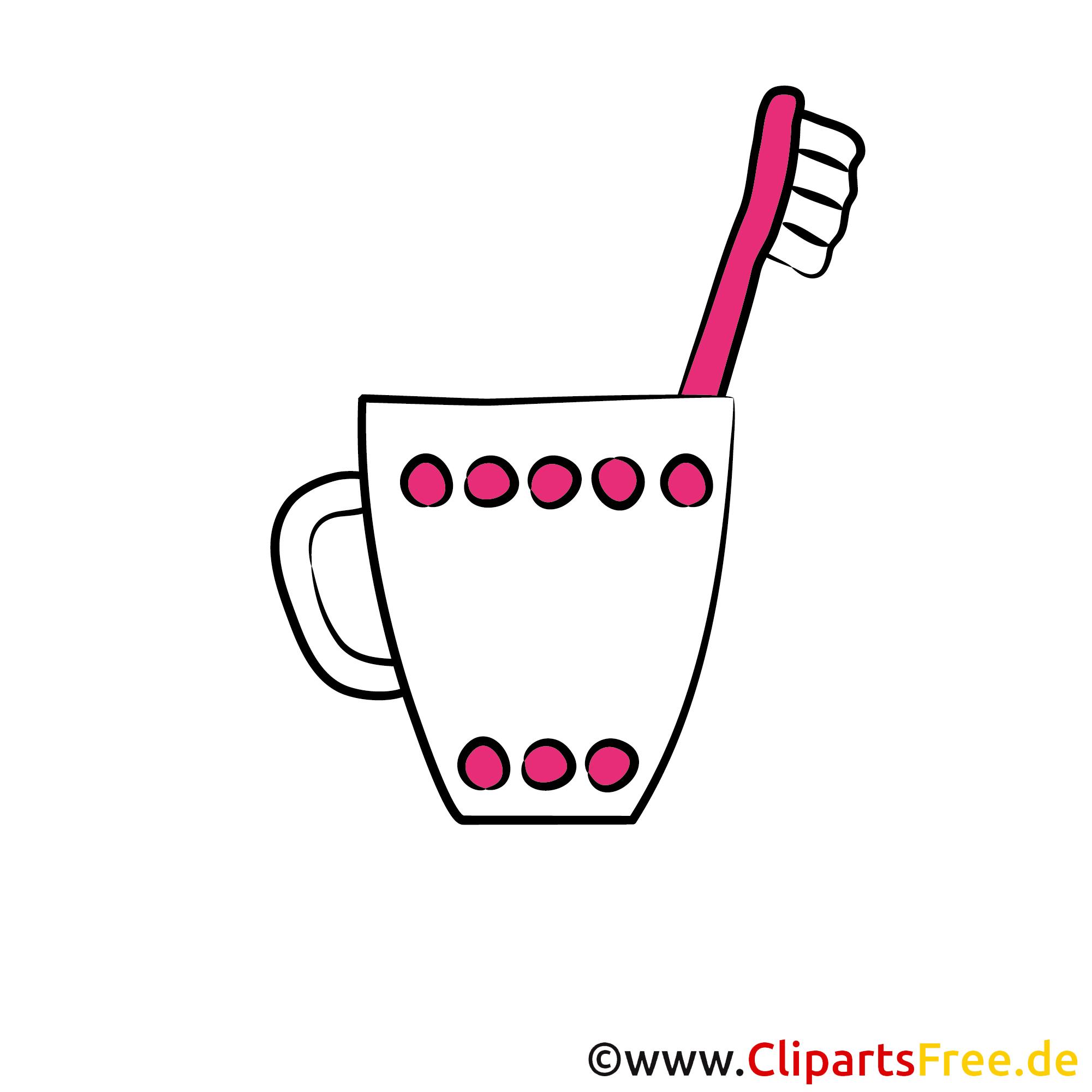 Zahnbürste Bild, Clipart, Grafik