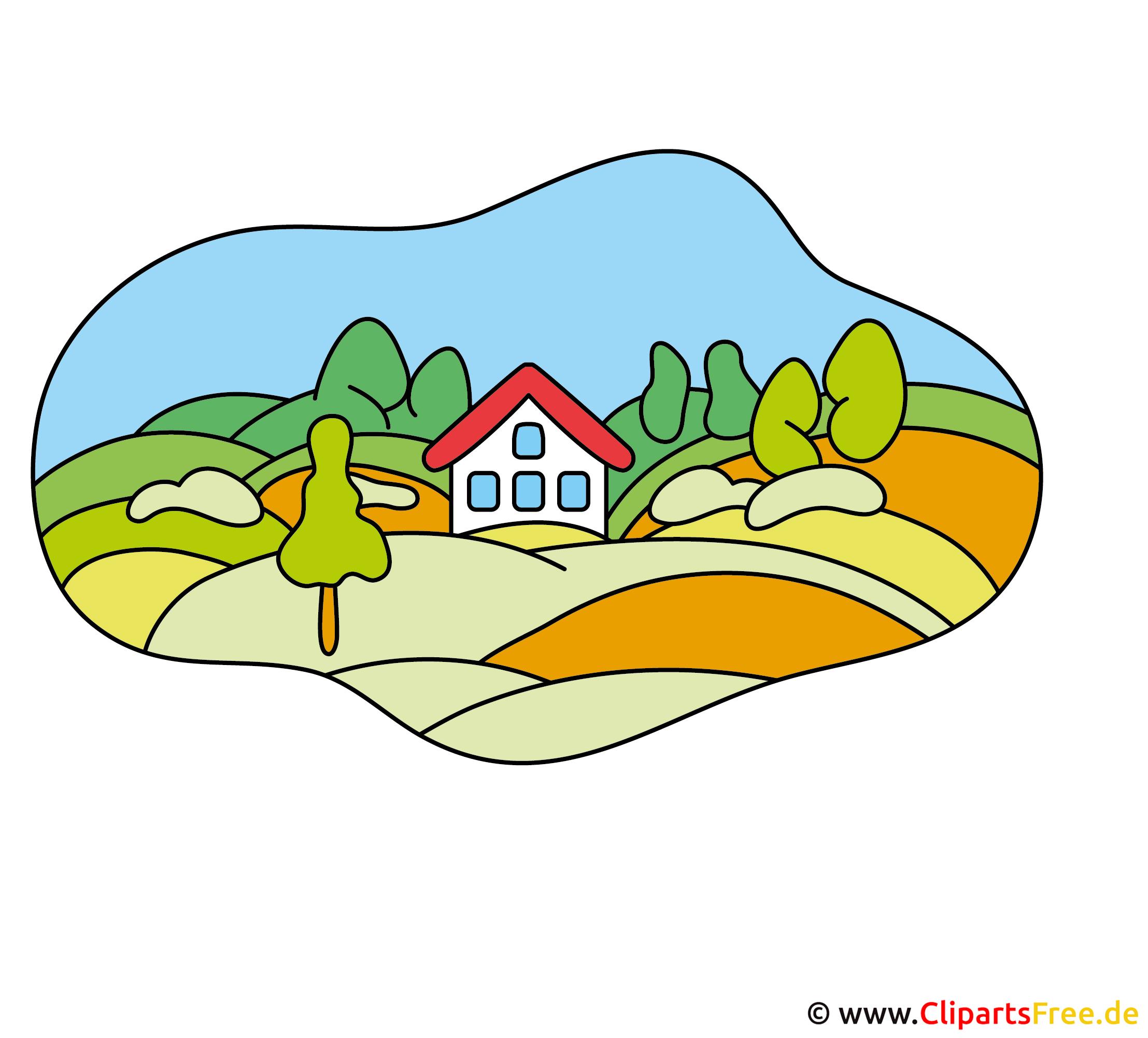 Bauernhof Bild Clipart gratis