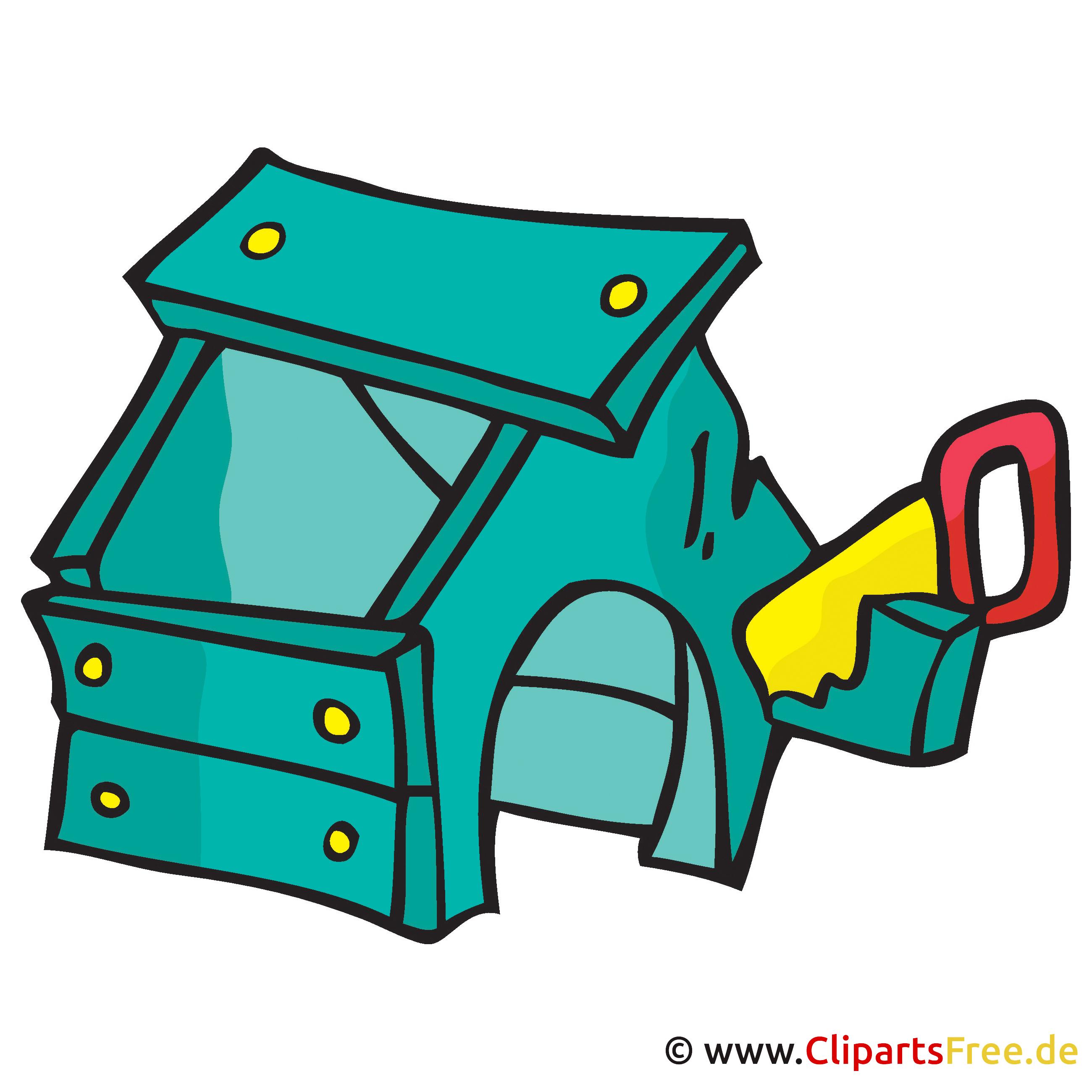 Hundehütte Clipart, Bild, Cartoon, Grafik, Illustration