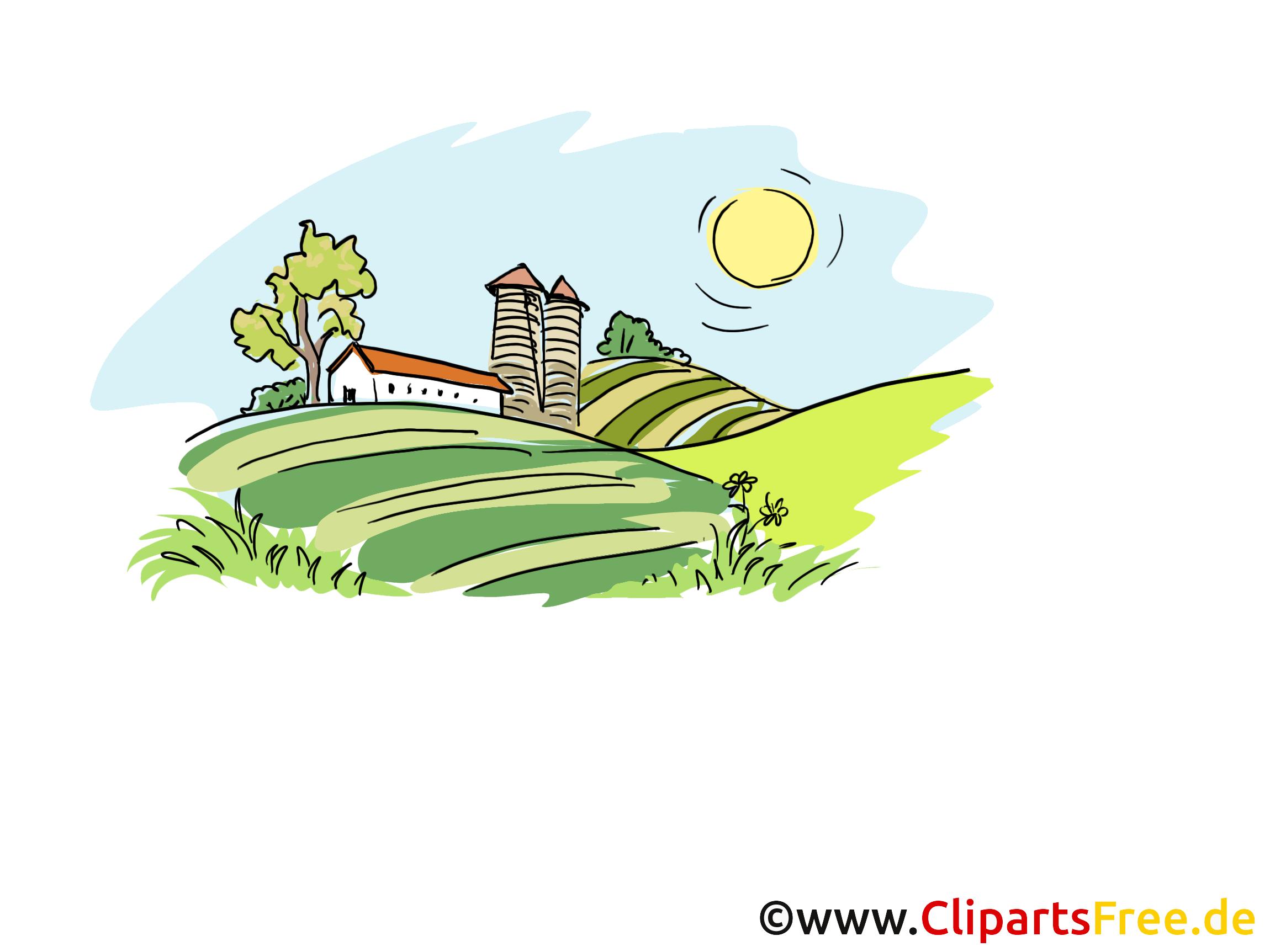 Landwirtschaft Cliparts, Bilder, Illustrationen