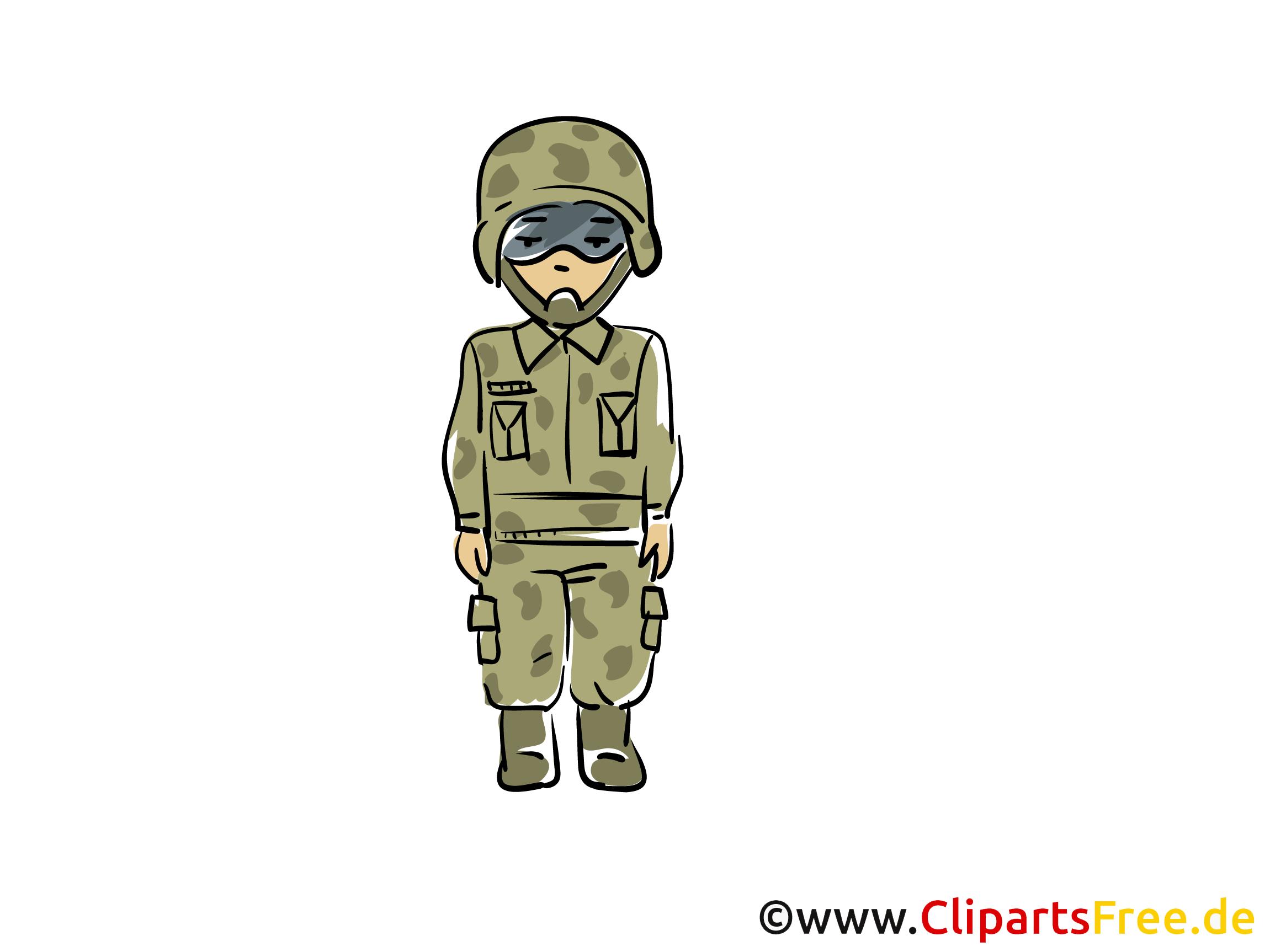 Clipart Militär gratis