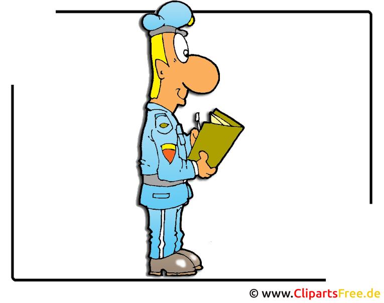 Offizier Clipart Cartoon Bild free - Armee Bilder kostenlos