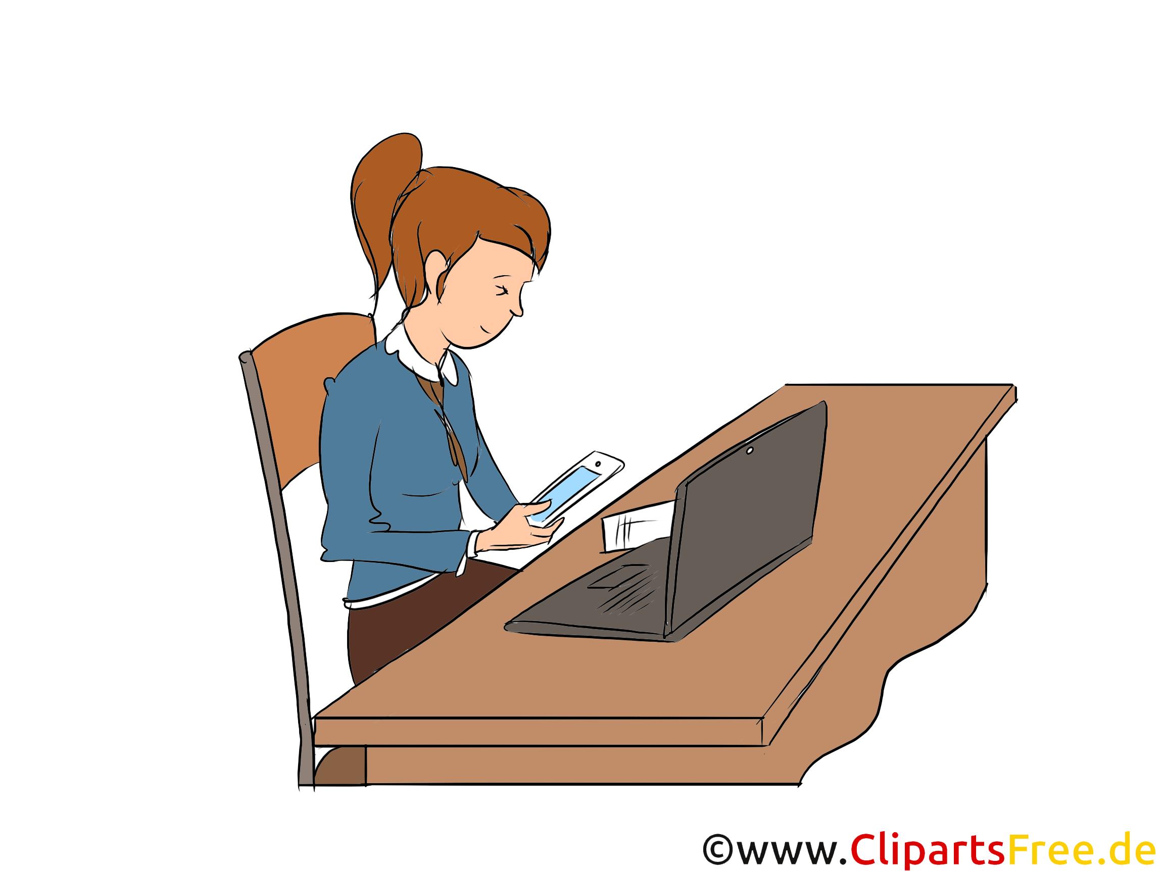 Kaufmann für Marketingkommunikation Clipart, Bild, Grafik zum Thema Ausbildungsberufe
